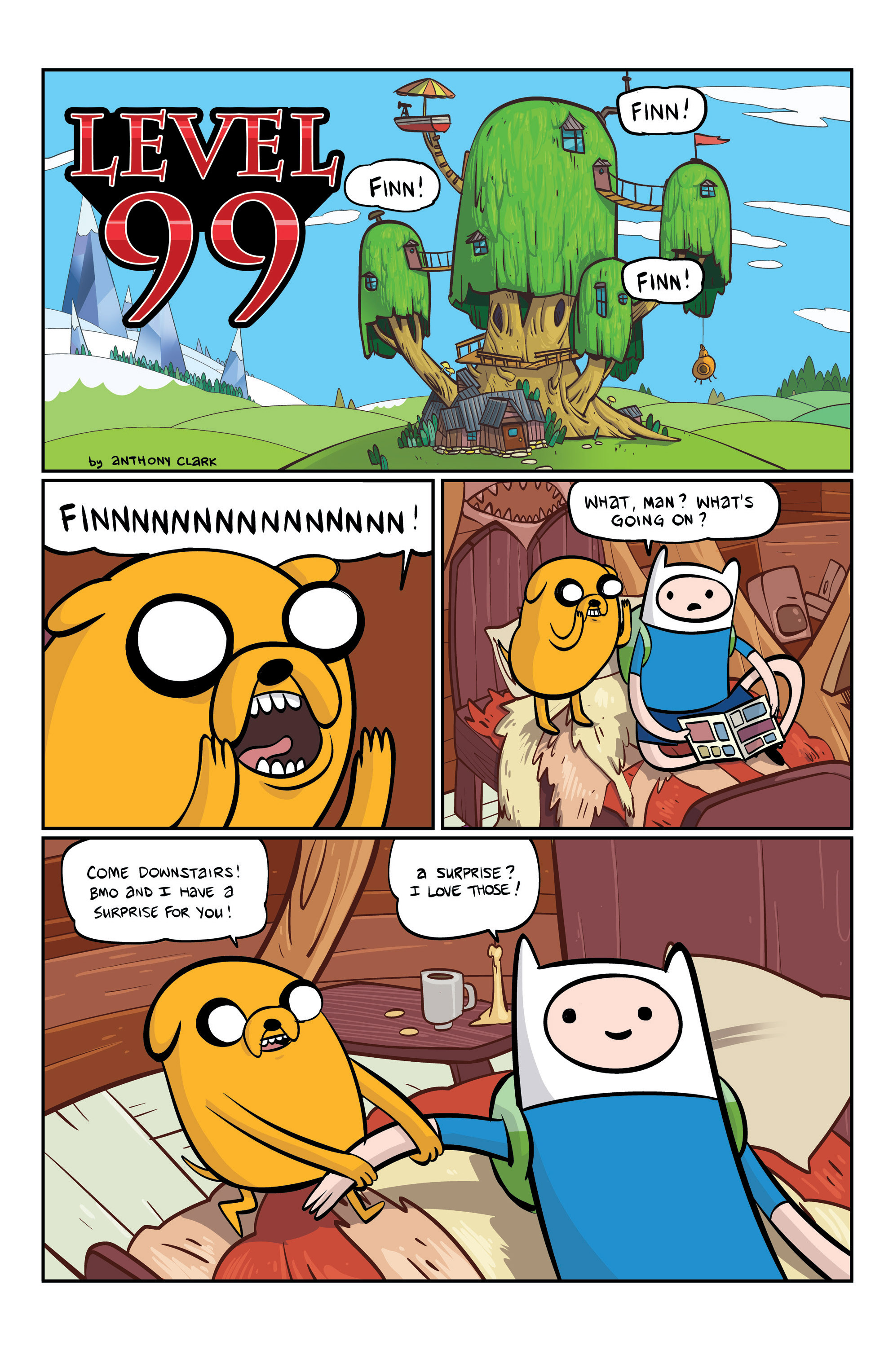 Read online Adventure Time comic -  Issue #6 - 22