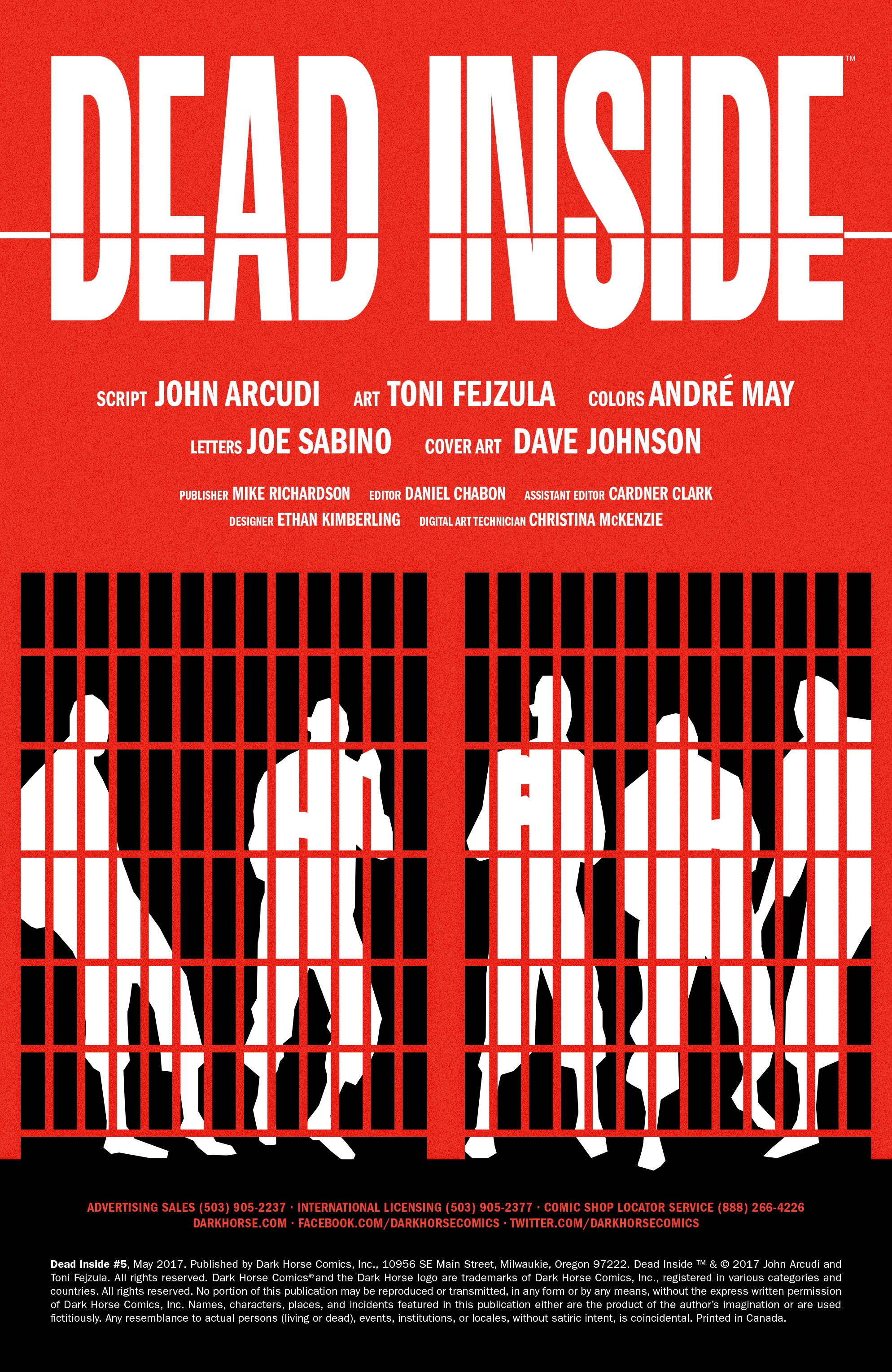 Read online Dead Inside comic -  Issue #5 - 2
