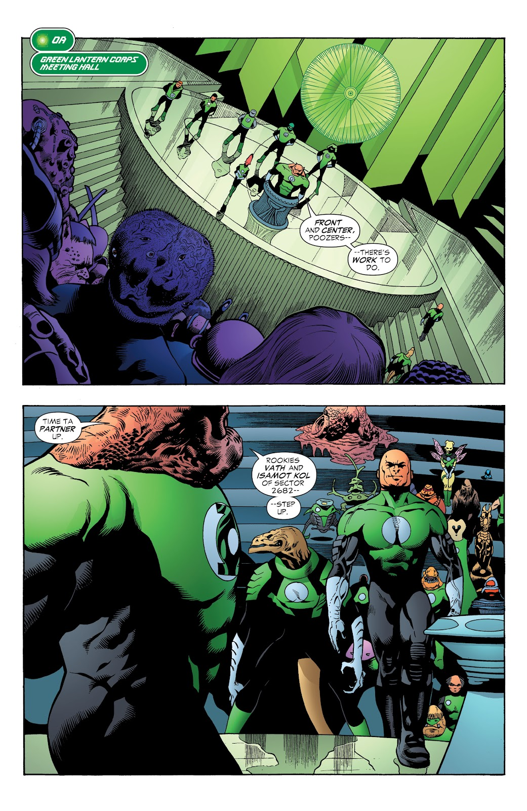 Read online Green Lantern by Geoff Johns comic -  Issue # TPB 1 (Part 3) - 9