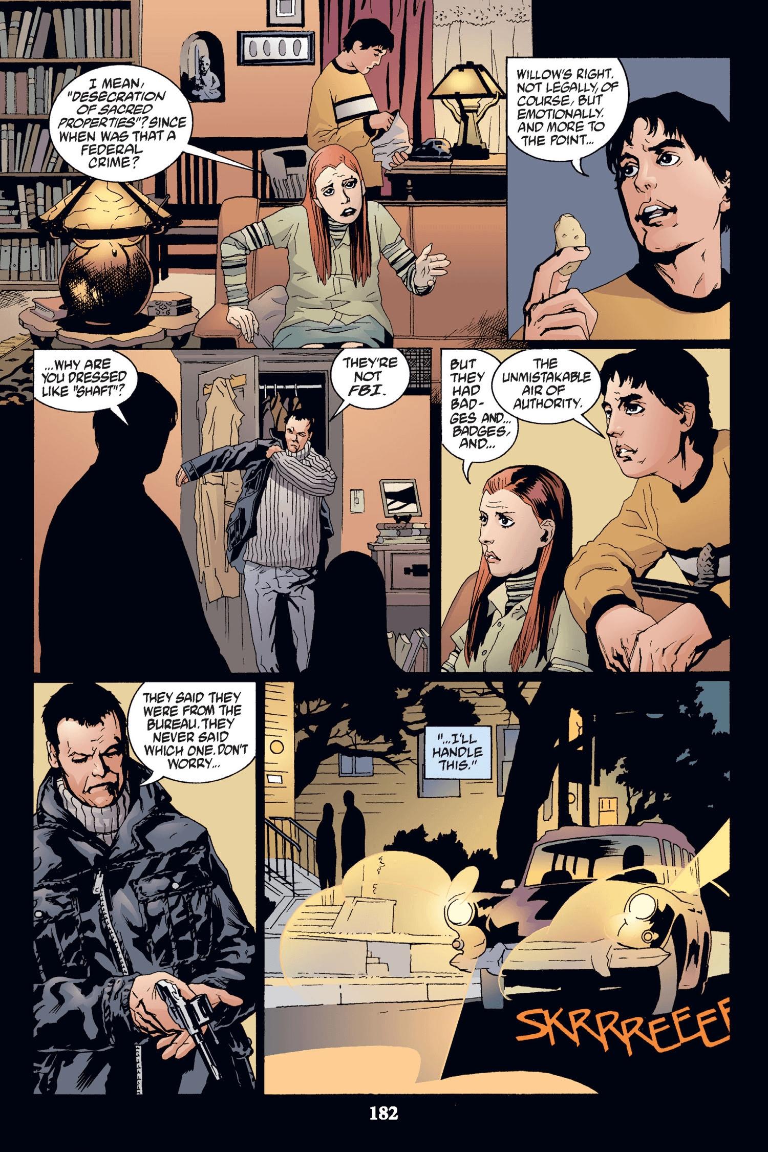 Read online Buffy the Vampire Slayer: Omnibus comic -  Issue # TPB 2 - 176
