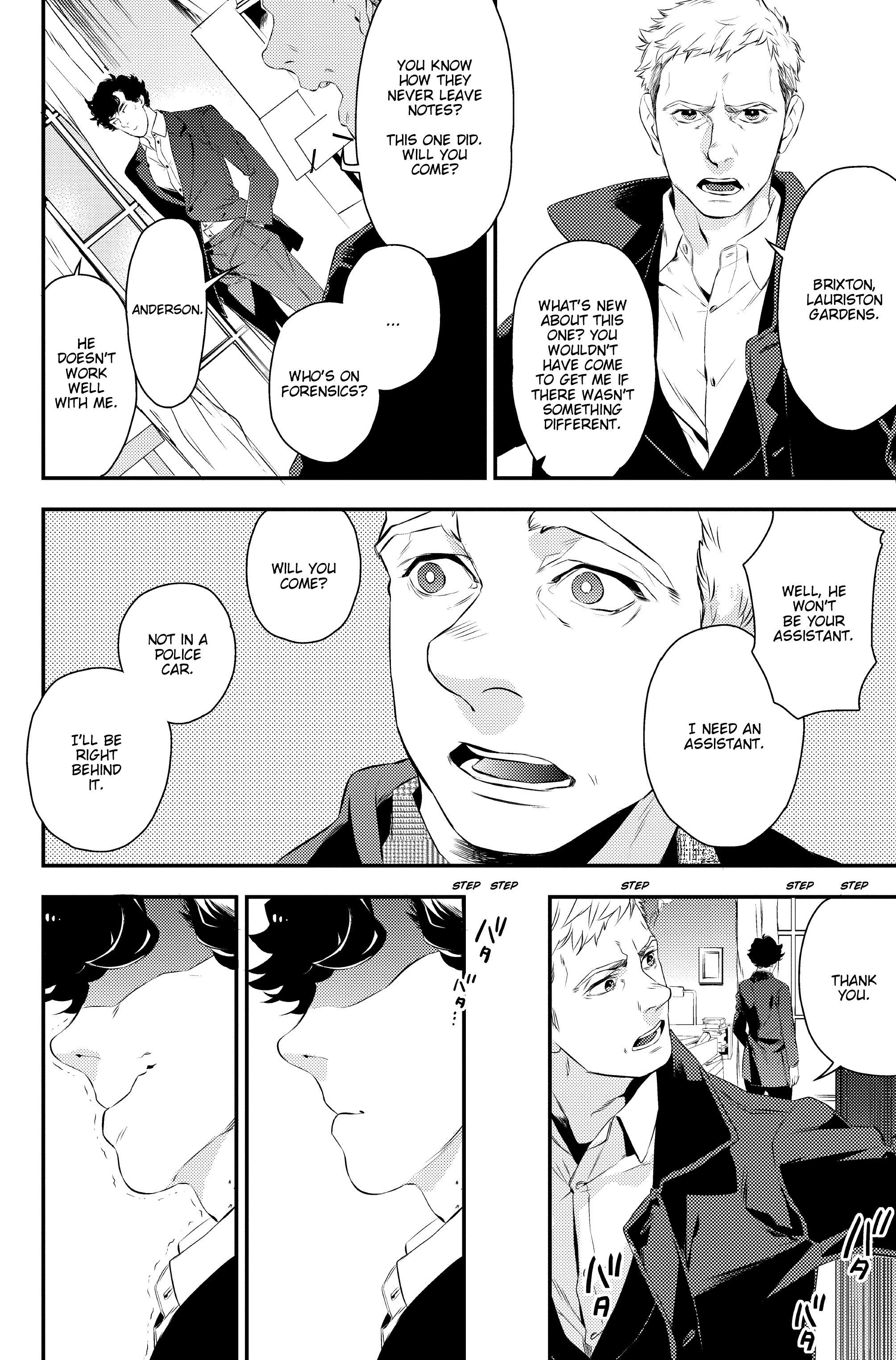 Read online Sherlock: A Study In Pink comic -  Issue #1 - 41