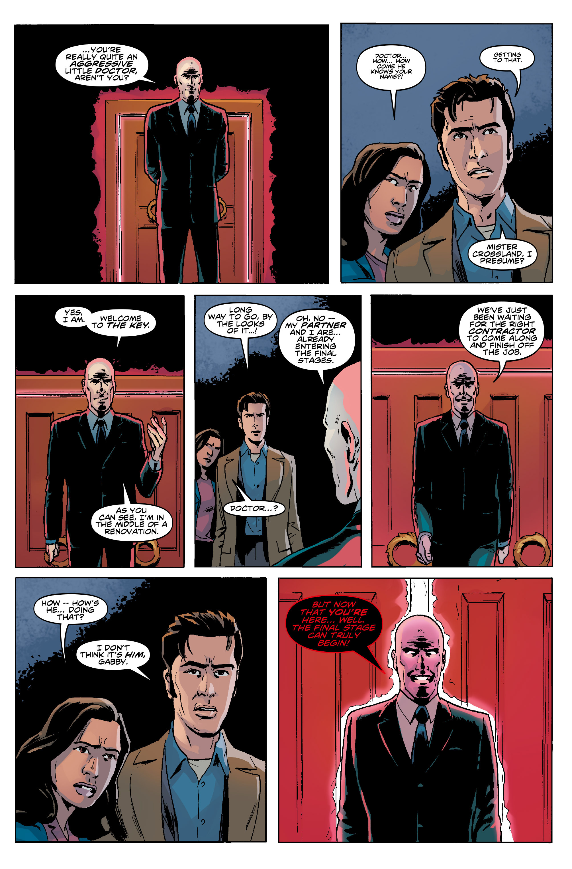 Read online Doctor Who: The Tenth Doctor Year Three comic -  Issue #5 - 14