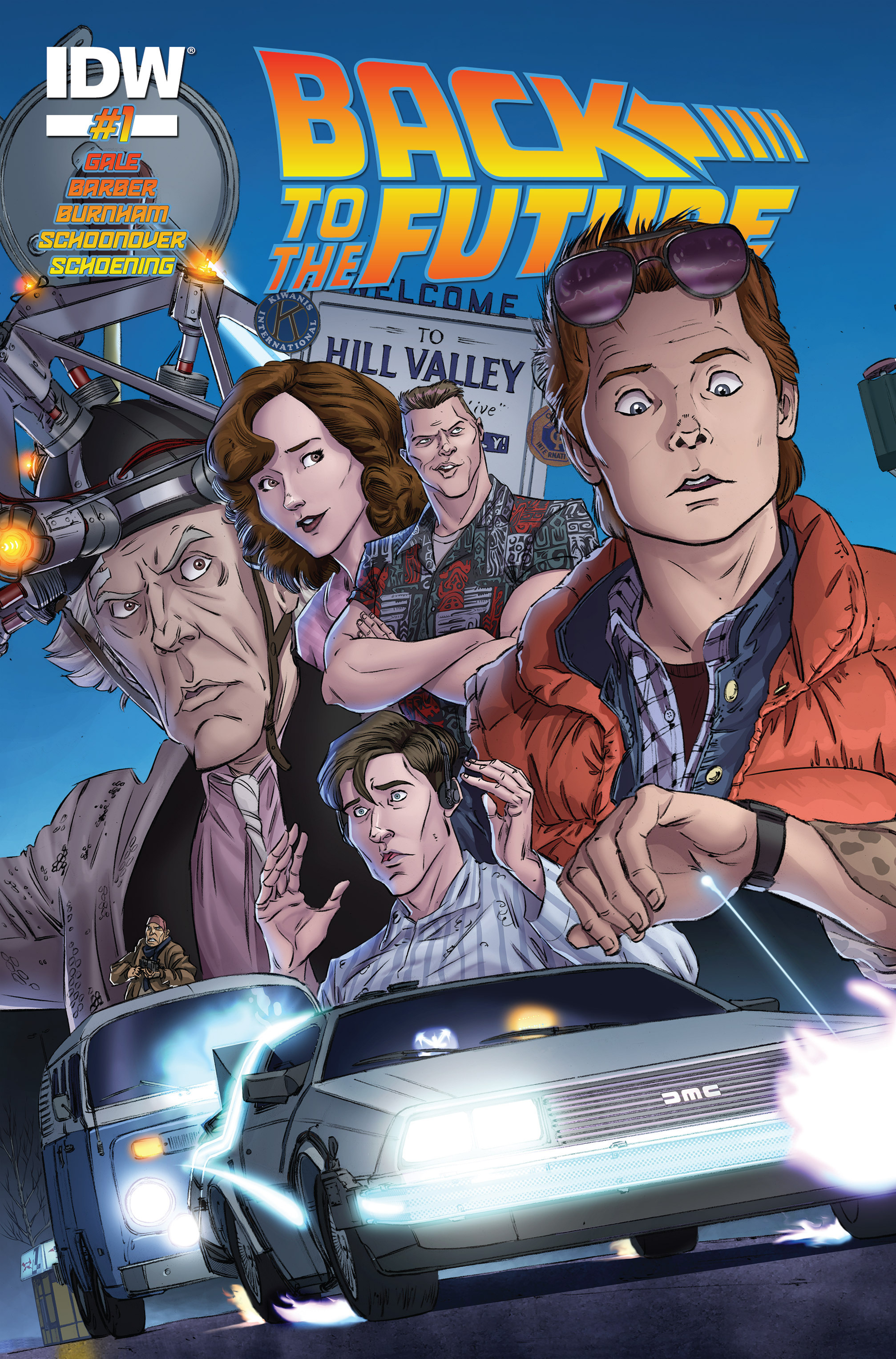 Back to the Future (2015) 1 Page 1