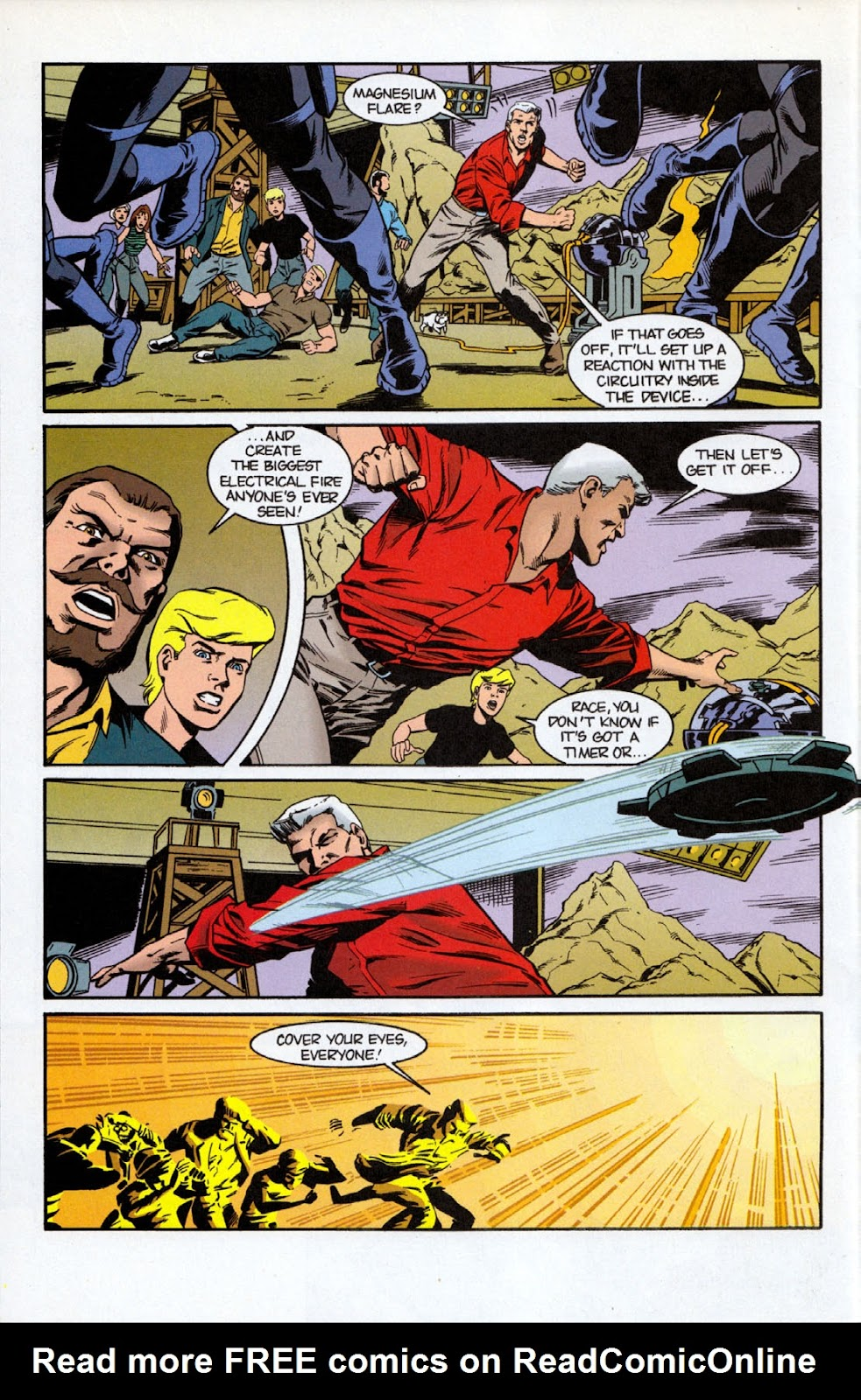 Read online The Real Adventures of Jonny Quest comic -  Issue #7 - 6