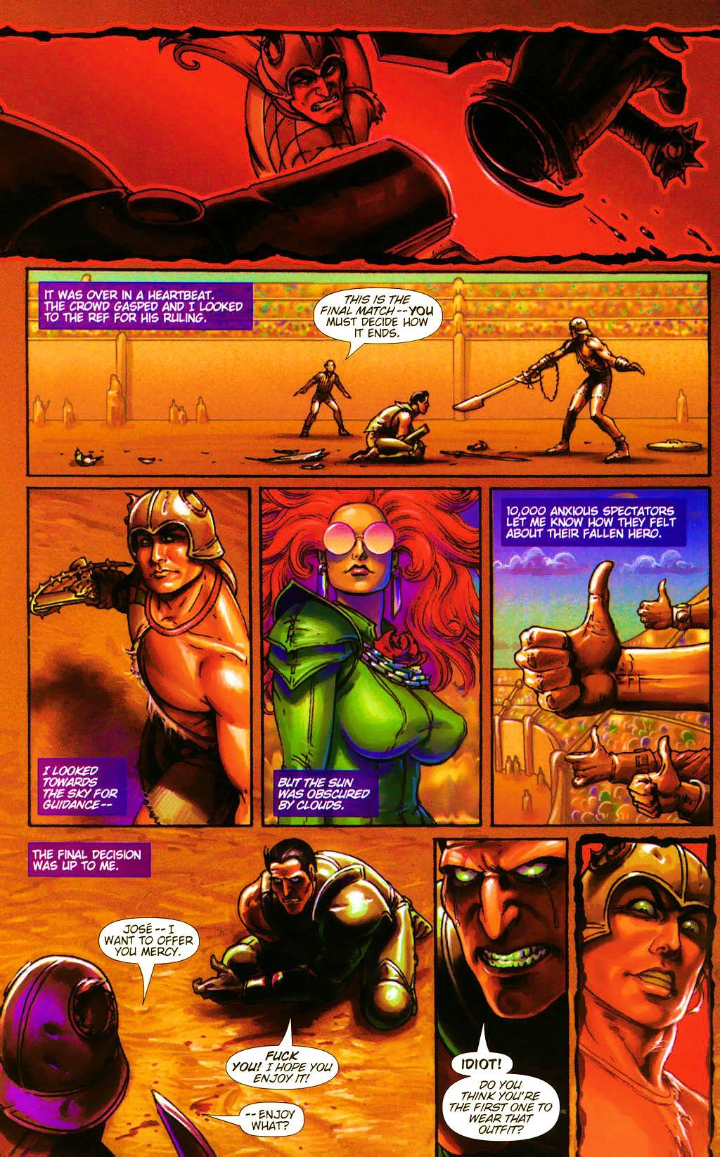 Read online Dawn: Three Tiers comic -  Issue #4 - 20