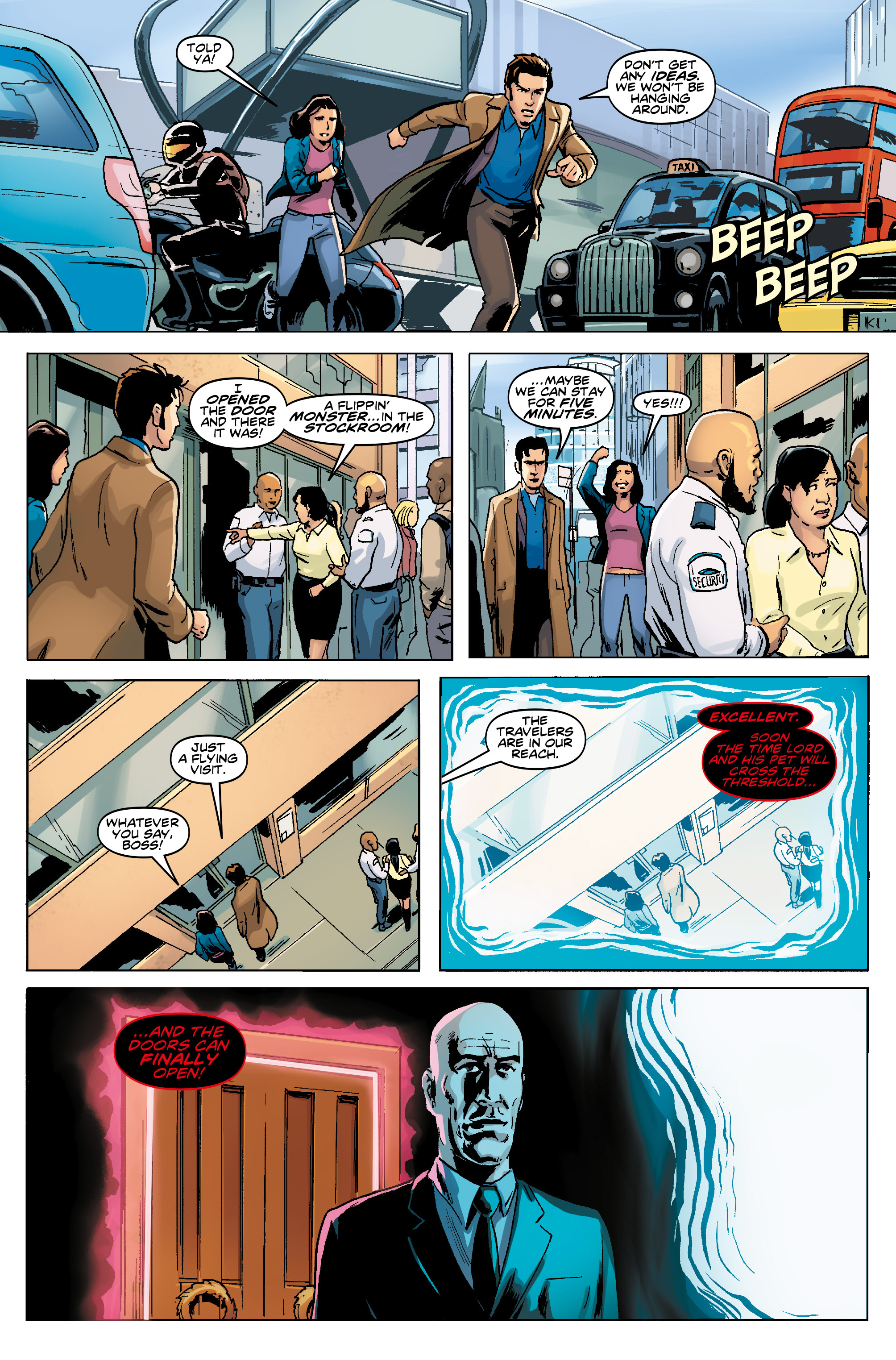 Read online Doctor Who: The Tenth Doctor Year Three comic -  Issue #5 - 10