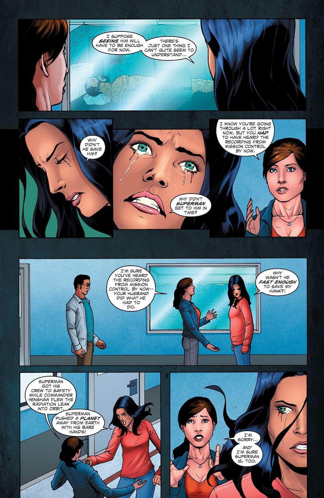 Read online Smallville Season 11 [II] comic -  Issue # TPB 1 - 76