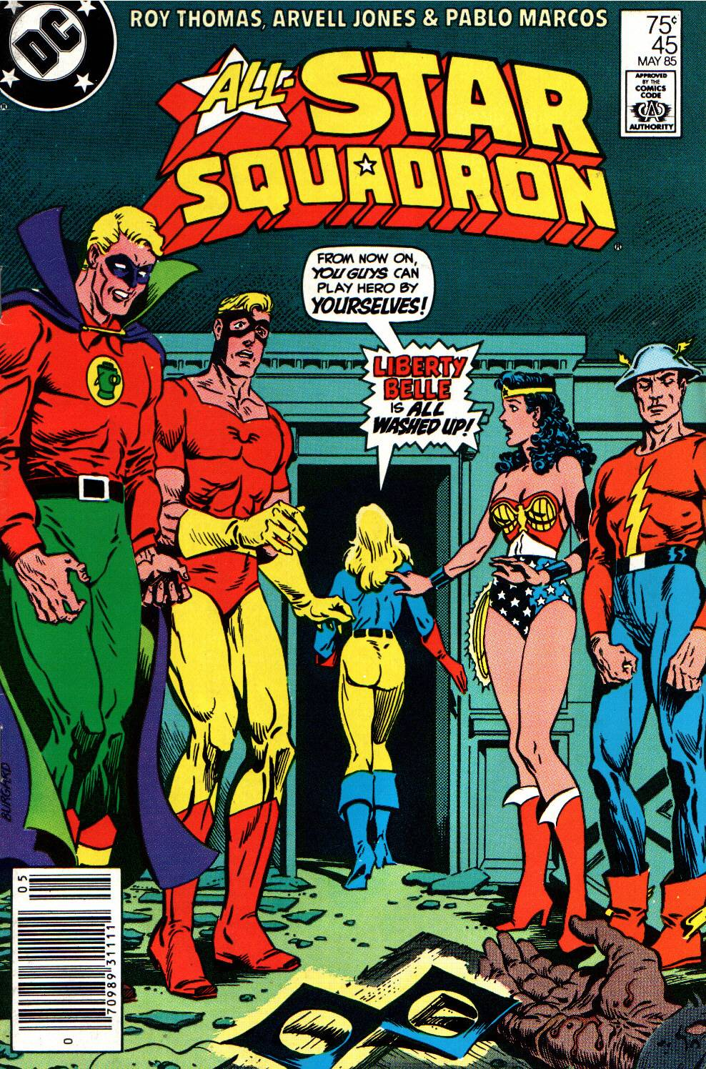 Read online All-Star Squadron comic -  Issue #45 - 1