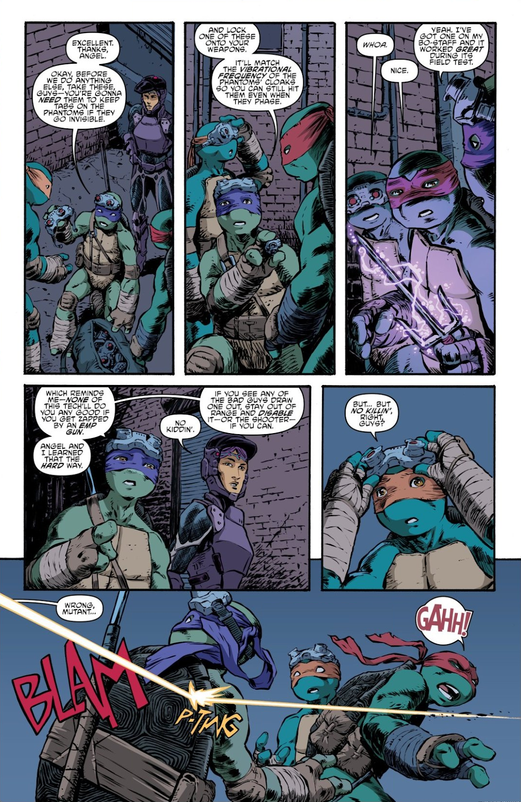 Read online Teenage Mutant Ninja Turtles: The IDW Collection comic -  Issue # TPB 7 (Part 3) - 85