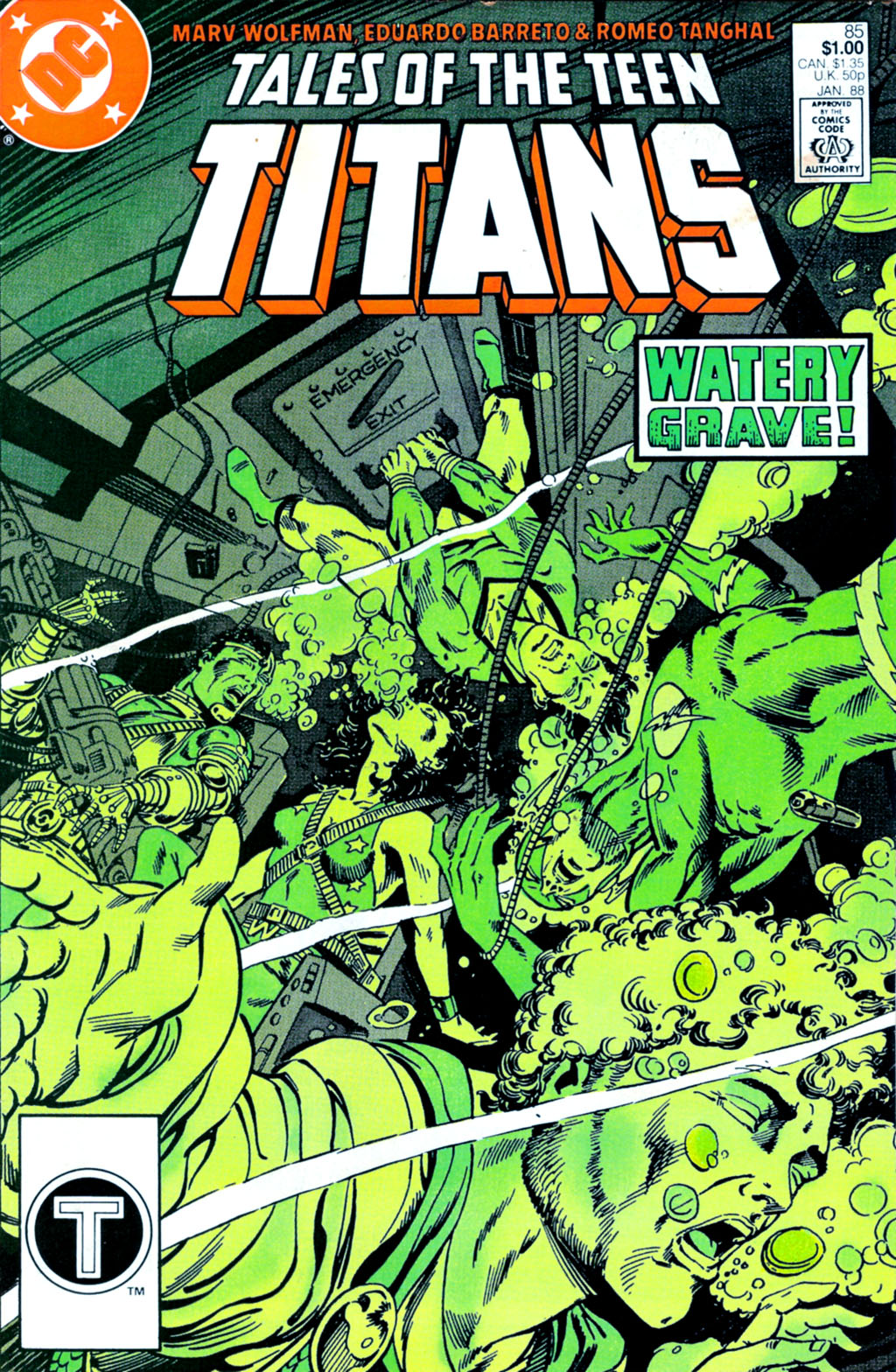 Tales of the Teen Titans 85 Page 1