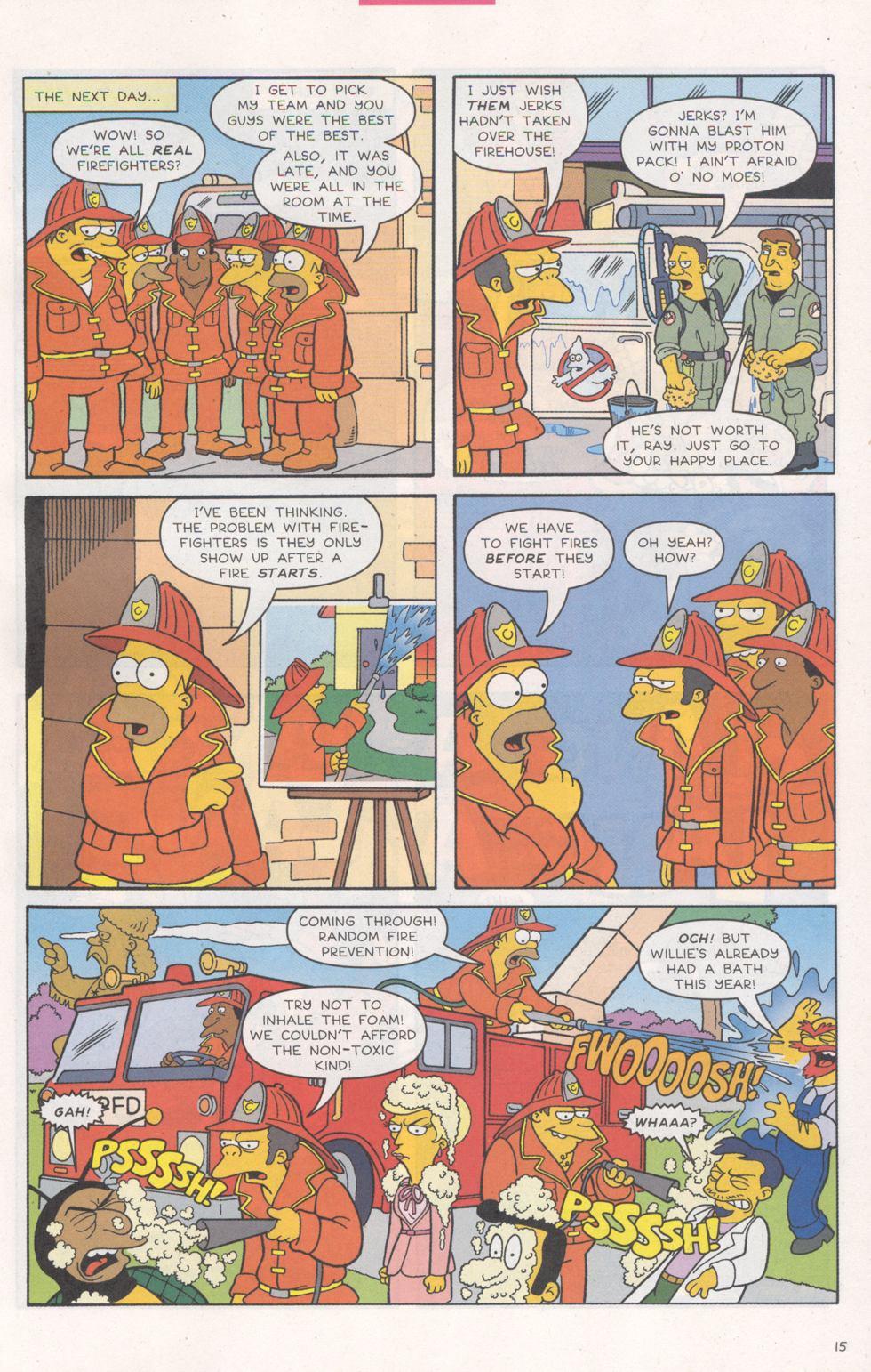 Read online Simpsons Comics comic -  Issue #93 - 16