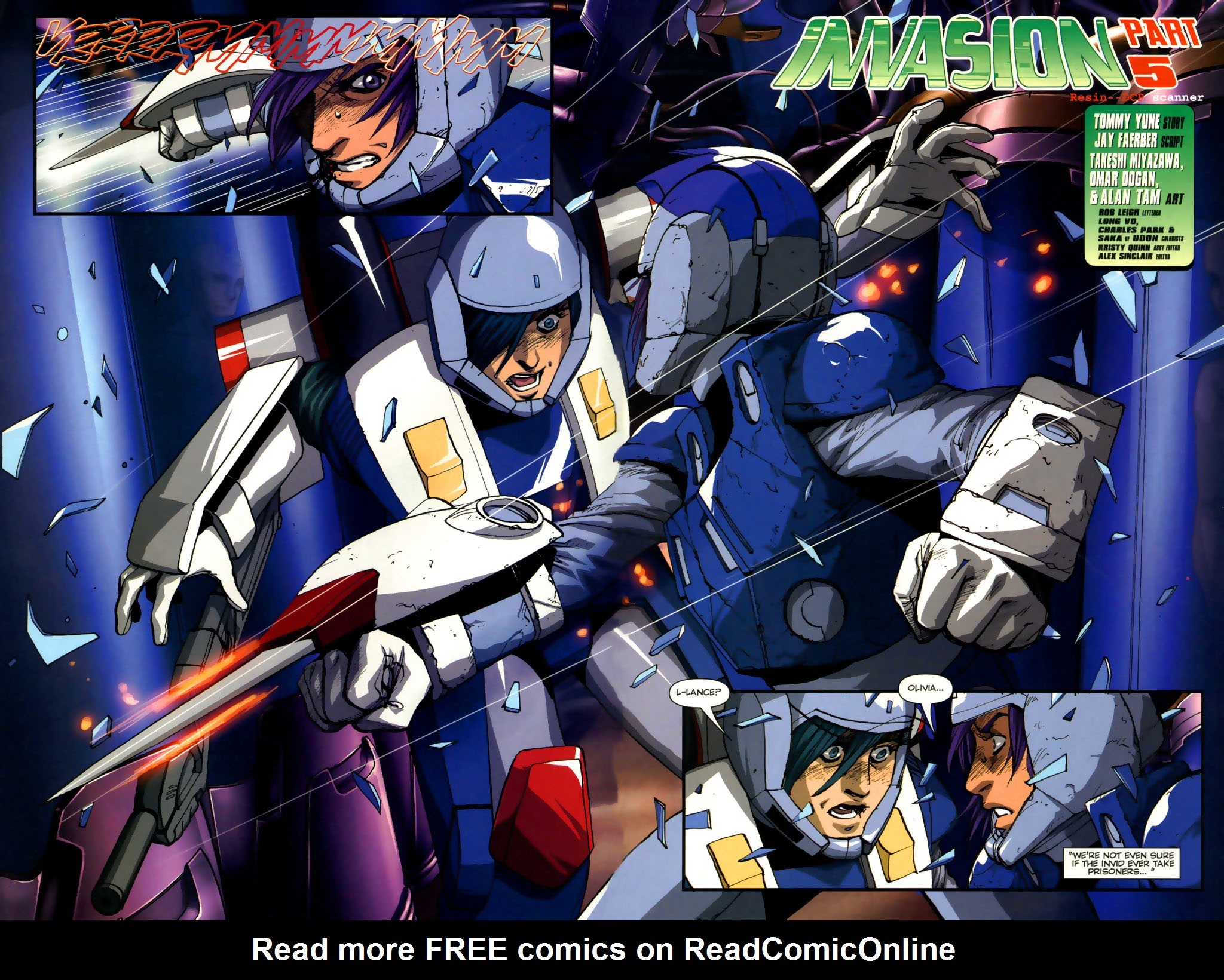 Read online Robotech: Invasion comic -  Issue #5 - 3
