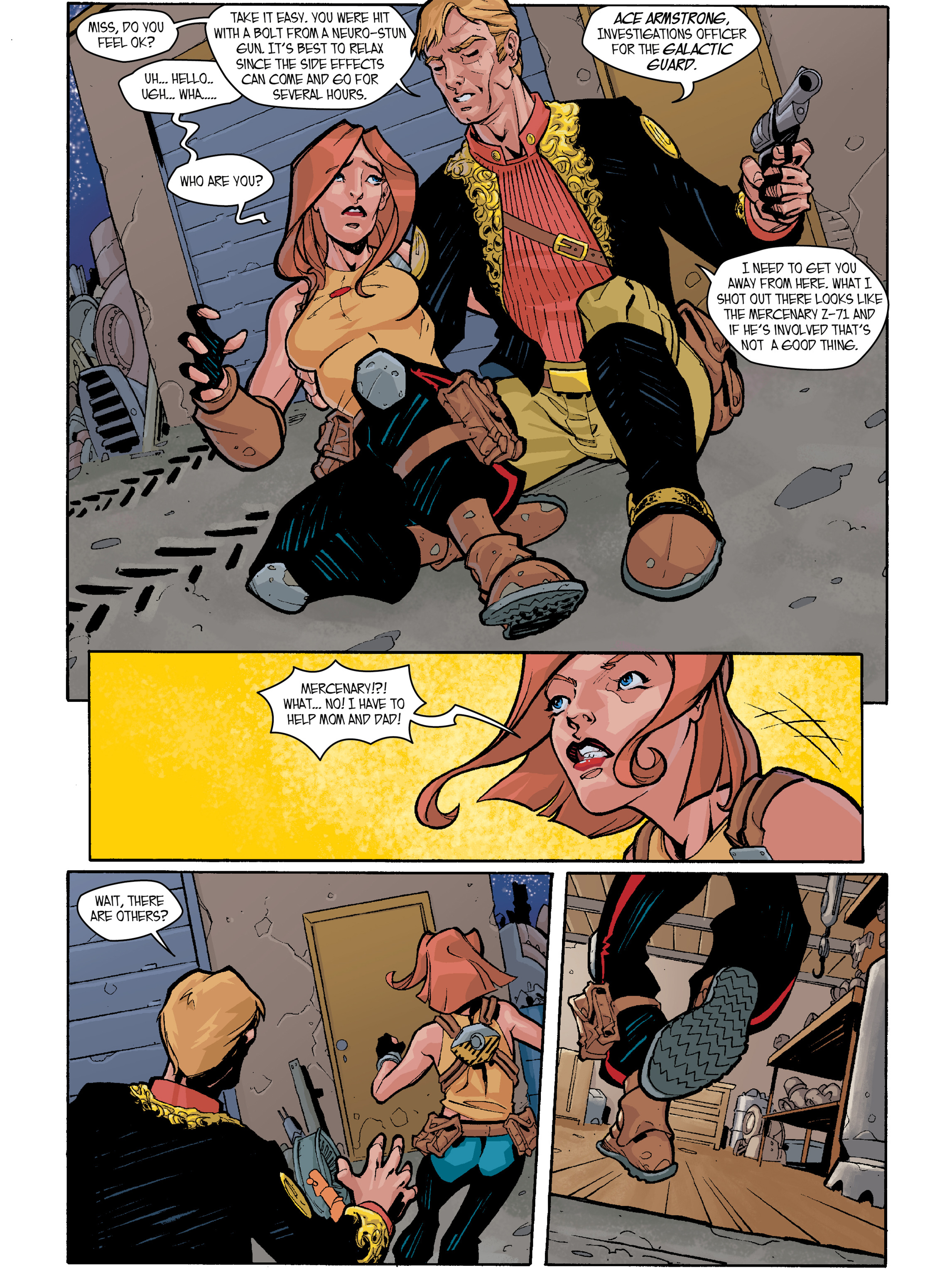 Read online Amber Atoms comic -  Issue #2 - 3