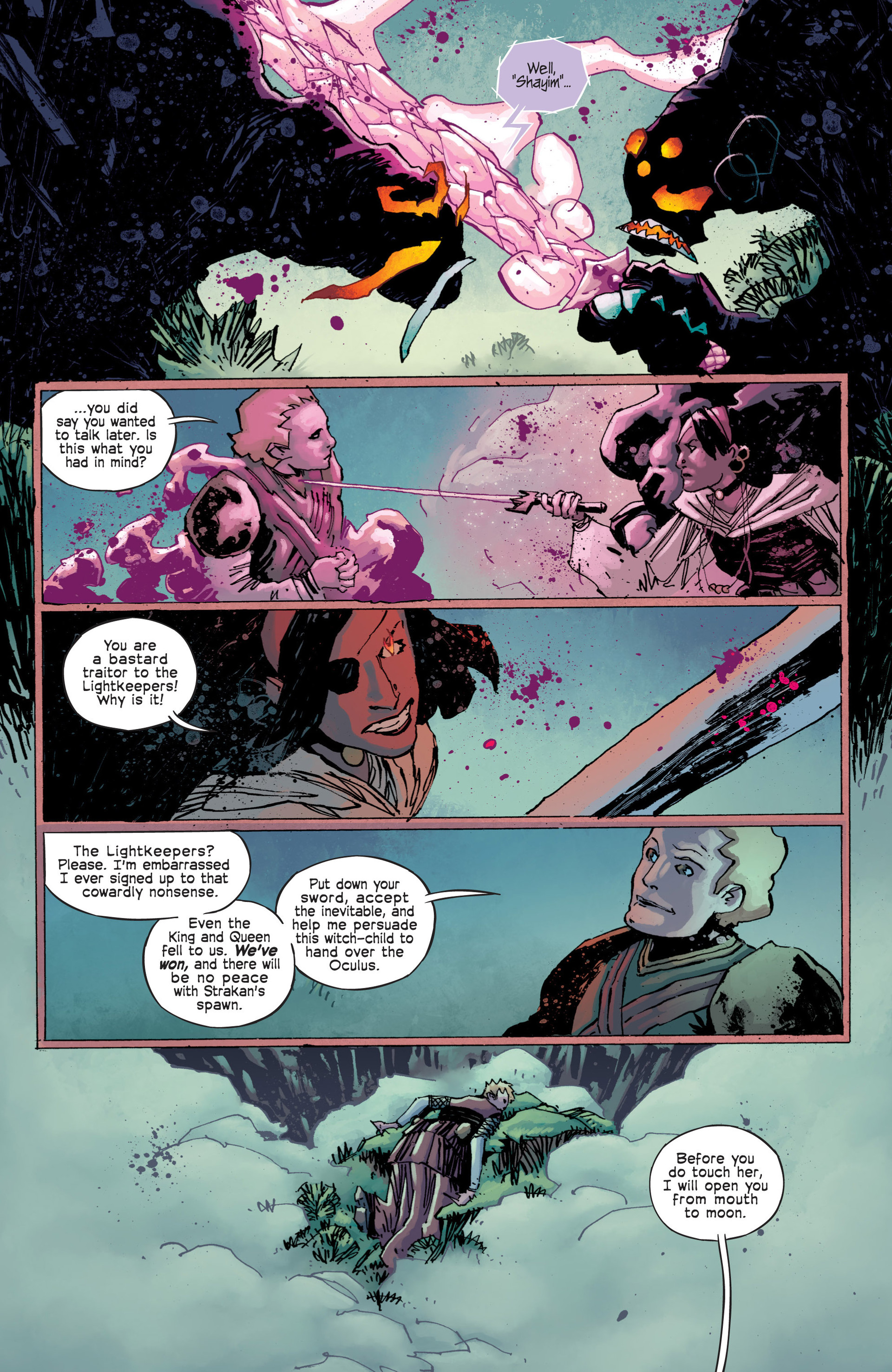 Read online Umbral comic -  Issue #12 - 3