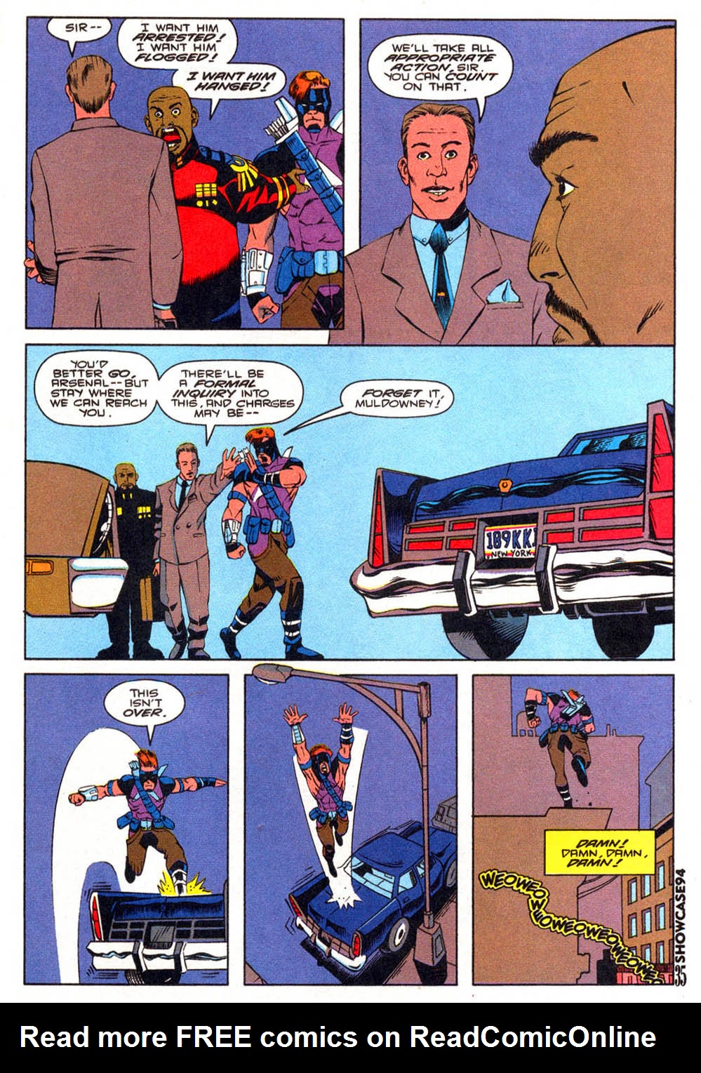 Read online Showcase '94 comic -  Issue #7 - 32