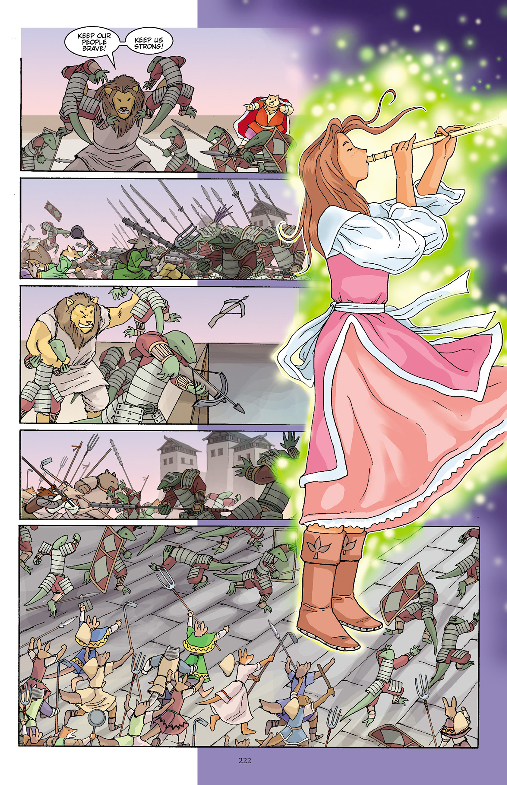 Read online Courageous Princess comic -  Issue # TPB 1 - 219