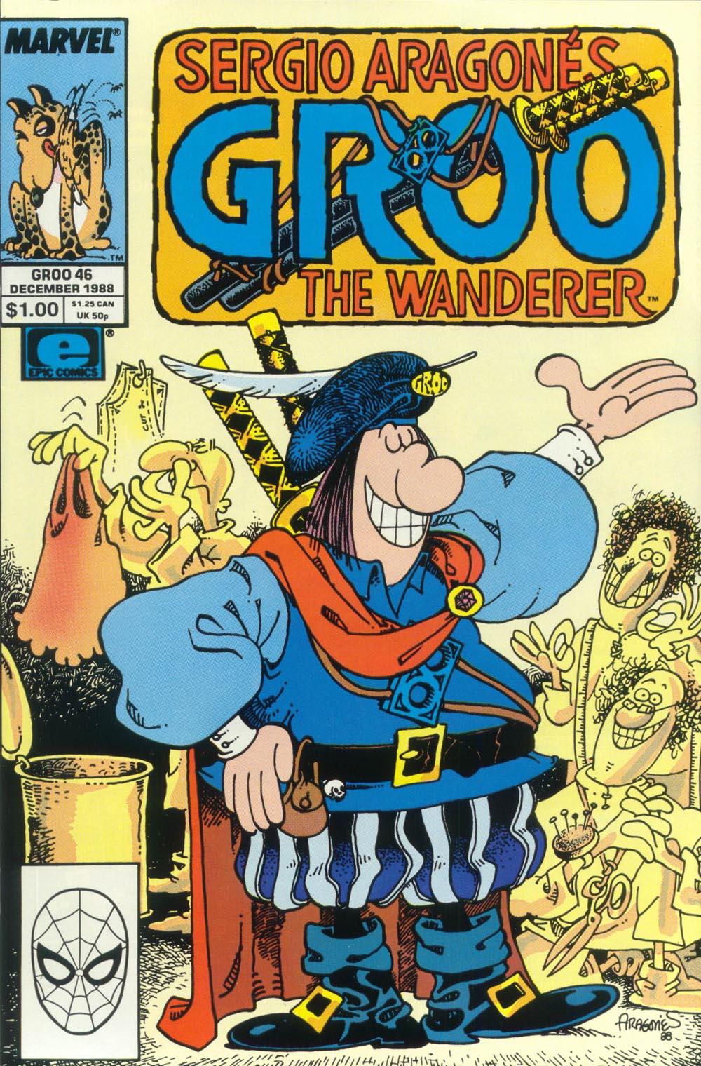 Read online Sergio Aragonés Groo the Wanderer comic -  Issue #46 - 1
