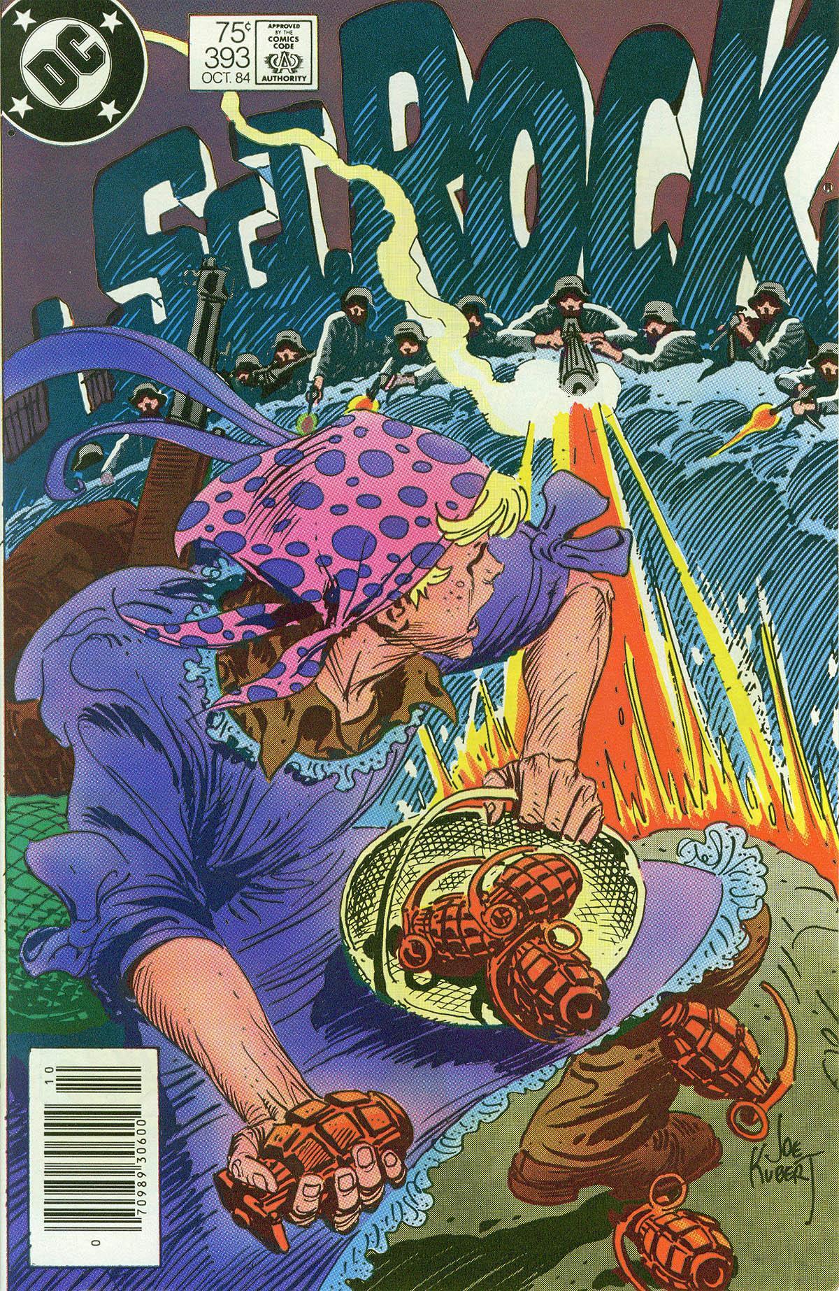 Read online Sgt. Rock comic -  Issue #393 - 1