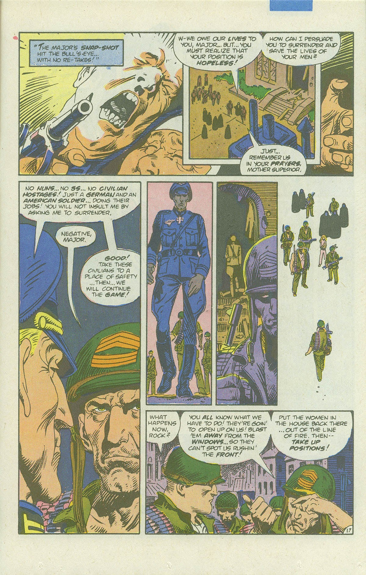 Read online Sgt. Rock comic -  Issue #422 - 24