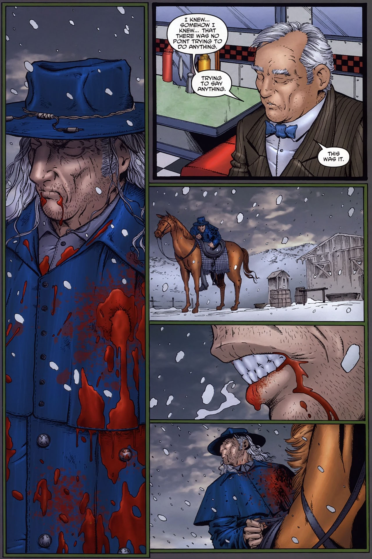 Read online Garth Ennis' Streets of Glory comic -  Issue #6 - 28