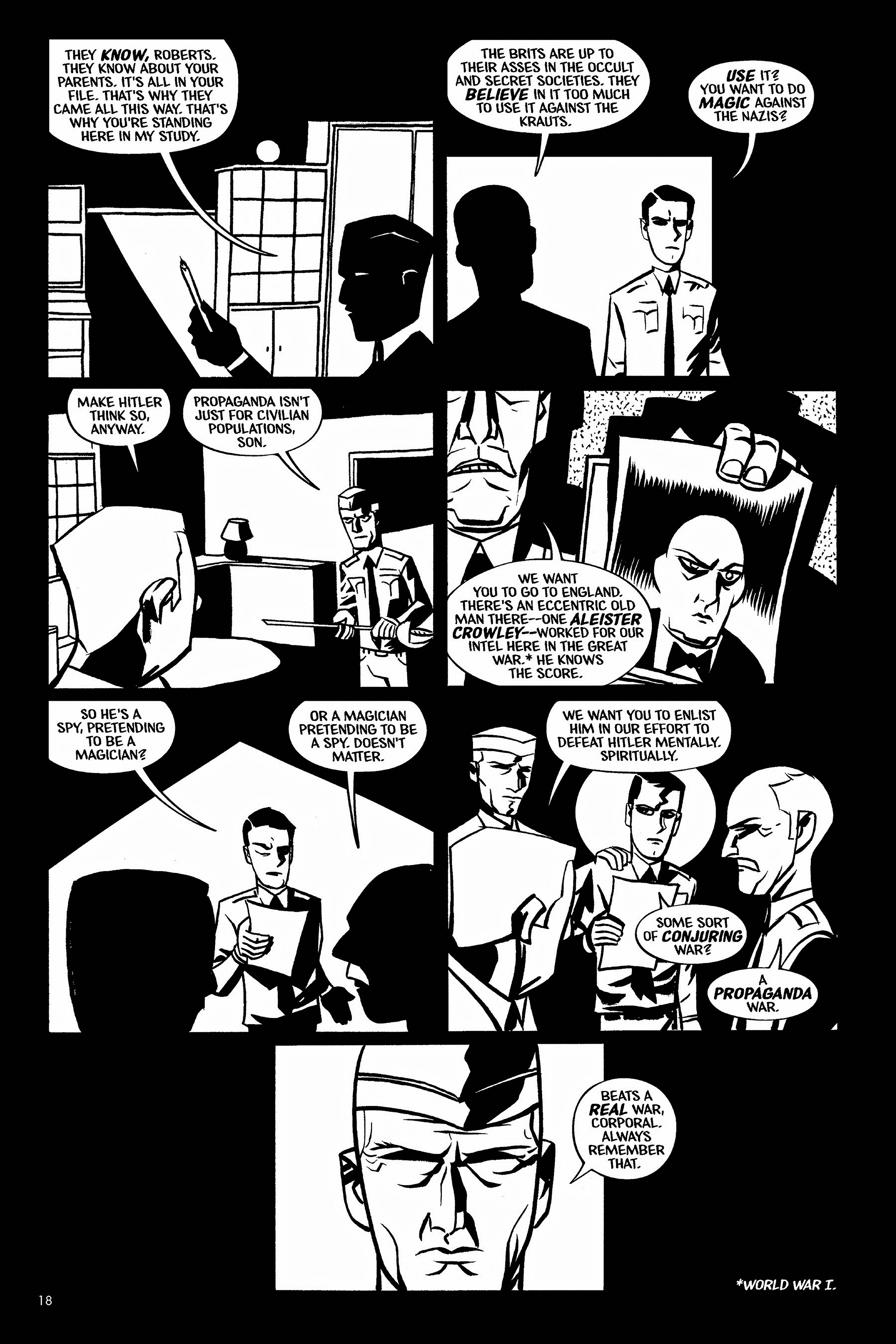 Read online Aleister & Adolf comic -  Issue # TPB - 18