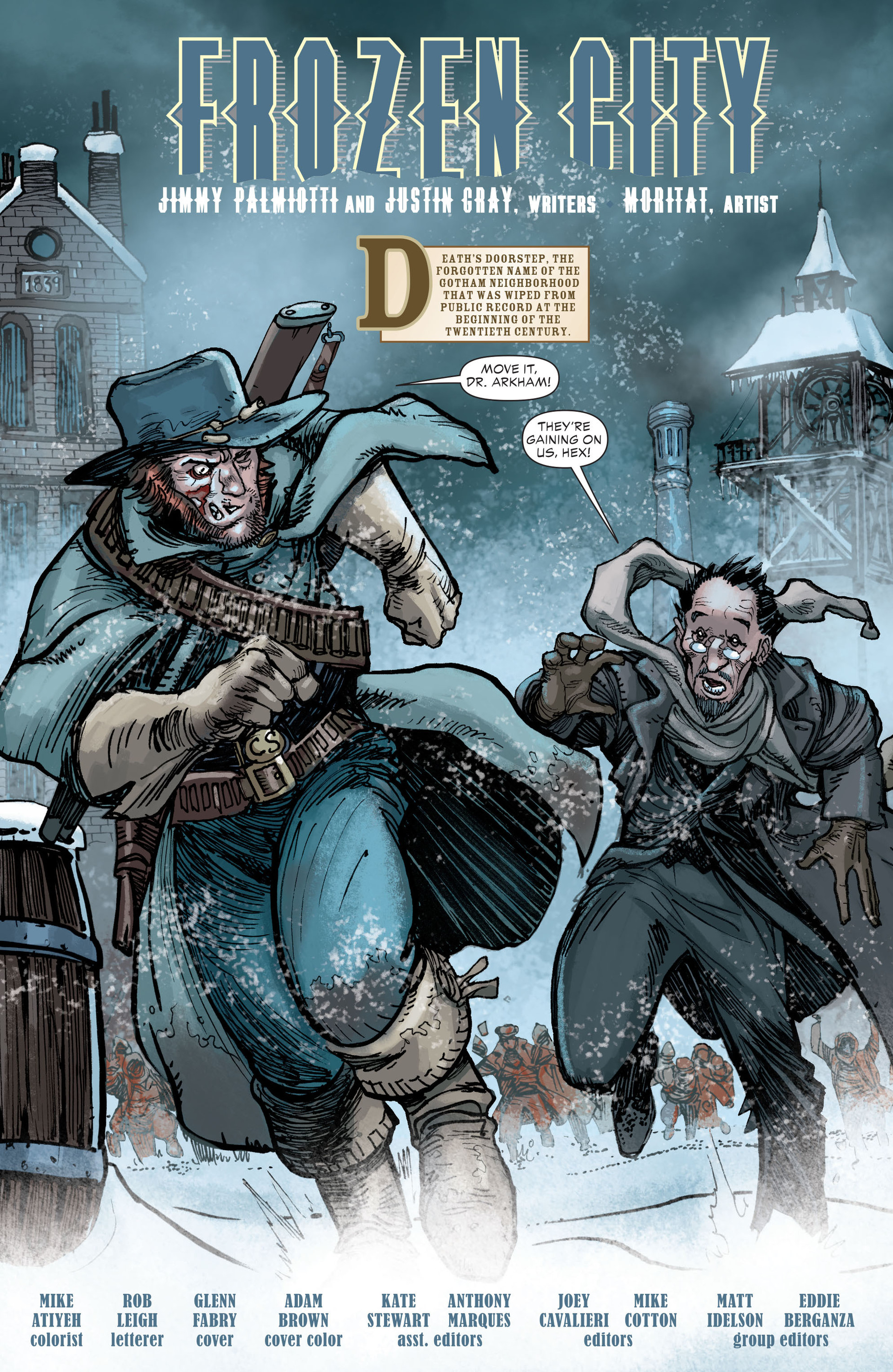 Read online All-Star Western (2011) comic -  Issue #18 - 2