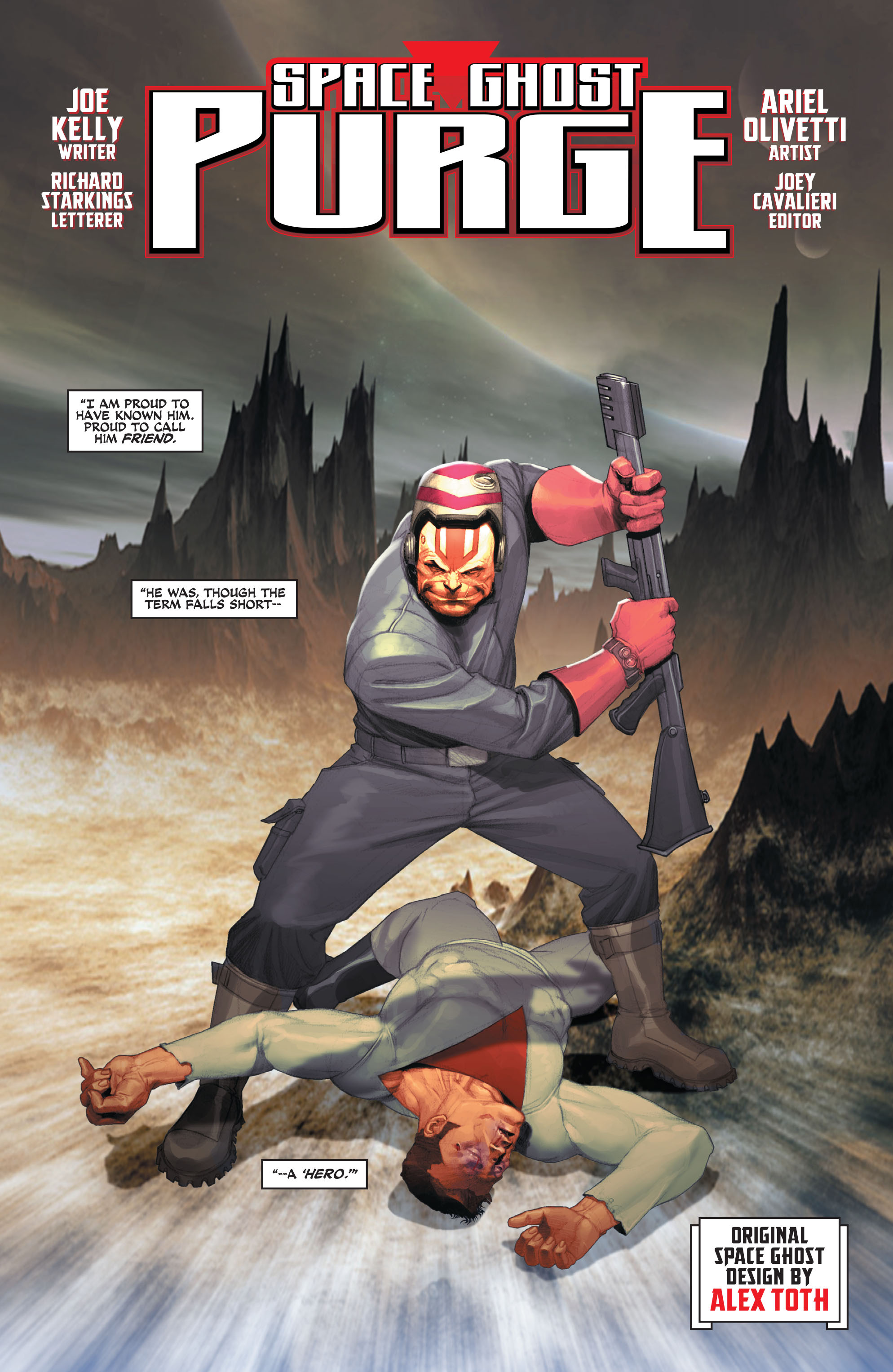 Read online Space Ghost (2016) comic -  Issue # Full - 29