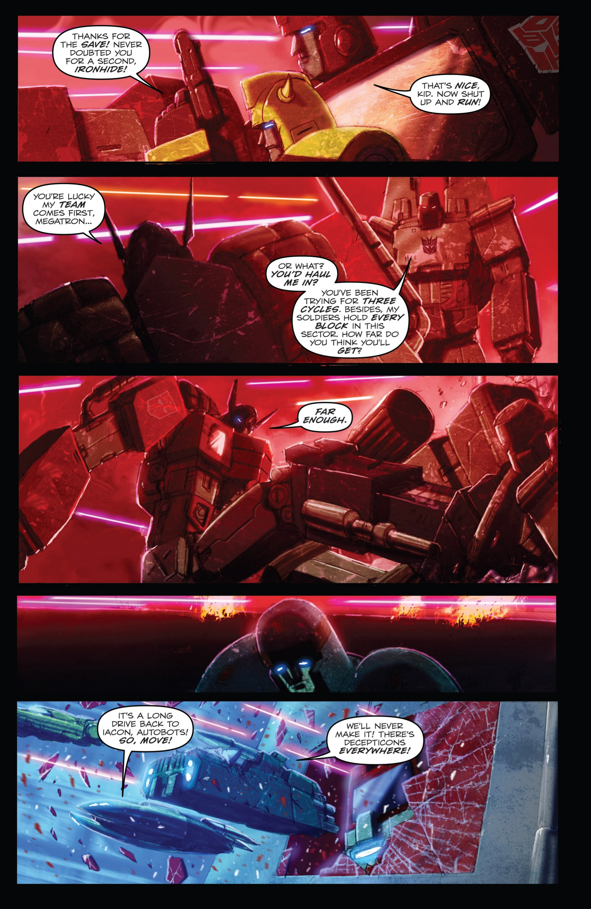 Read online Transformers: Autocracy comic -  Issue # Full - 39