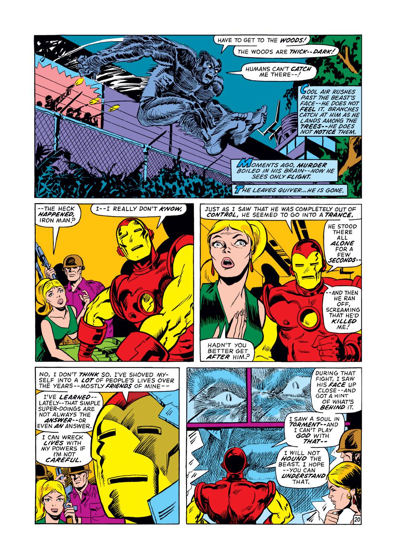 Read online Amazing Adventures (1970) comic -  Issue #12 - 21