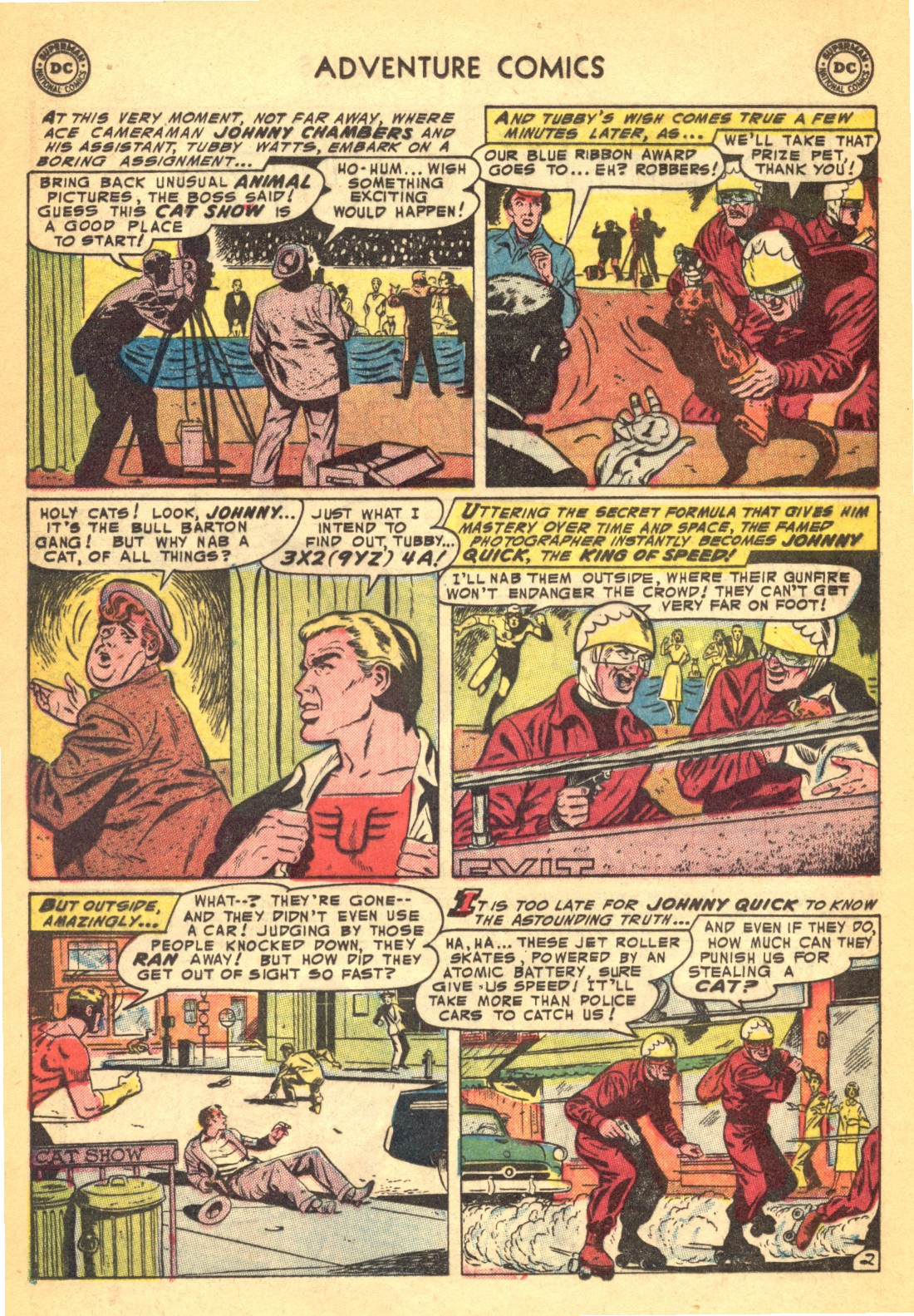 Read online Adventure Comics (1938) comic -  Issue #202 - 18