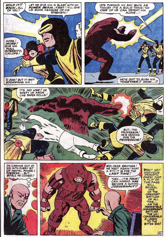 Read online Uncanny X-Men (1963) comic -  Issue #67 - 25