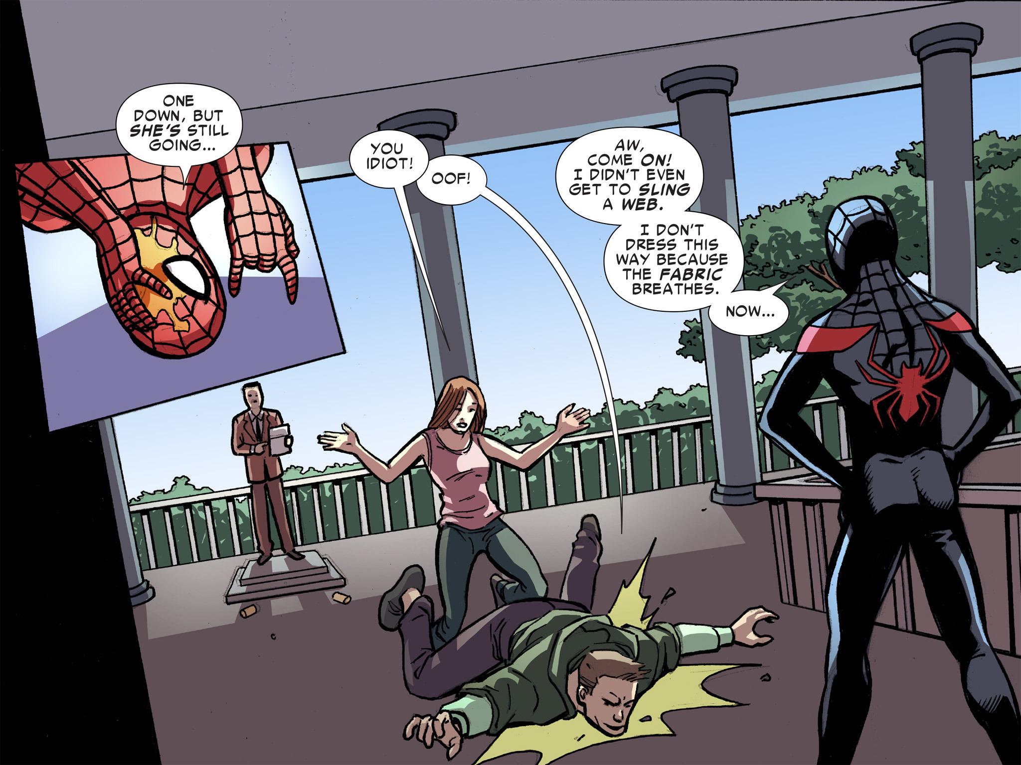 Read online Ultimate Spider-Man (Infinite Comics) (2016) comic -  Issue #8 - 45