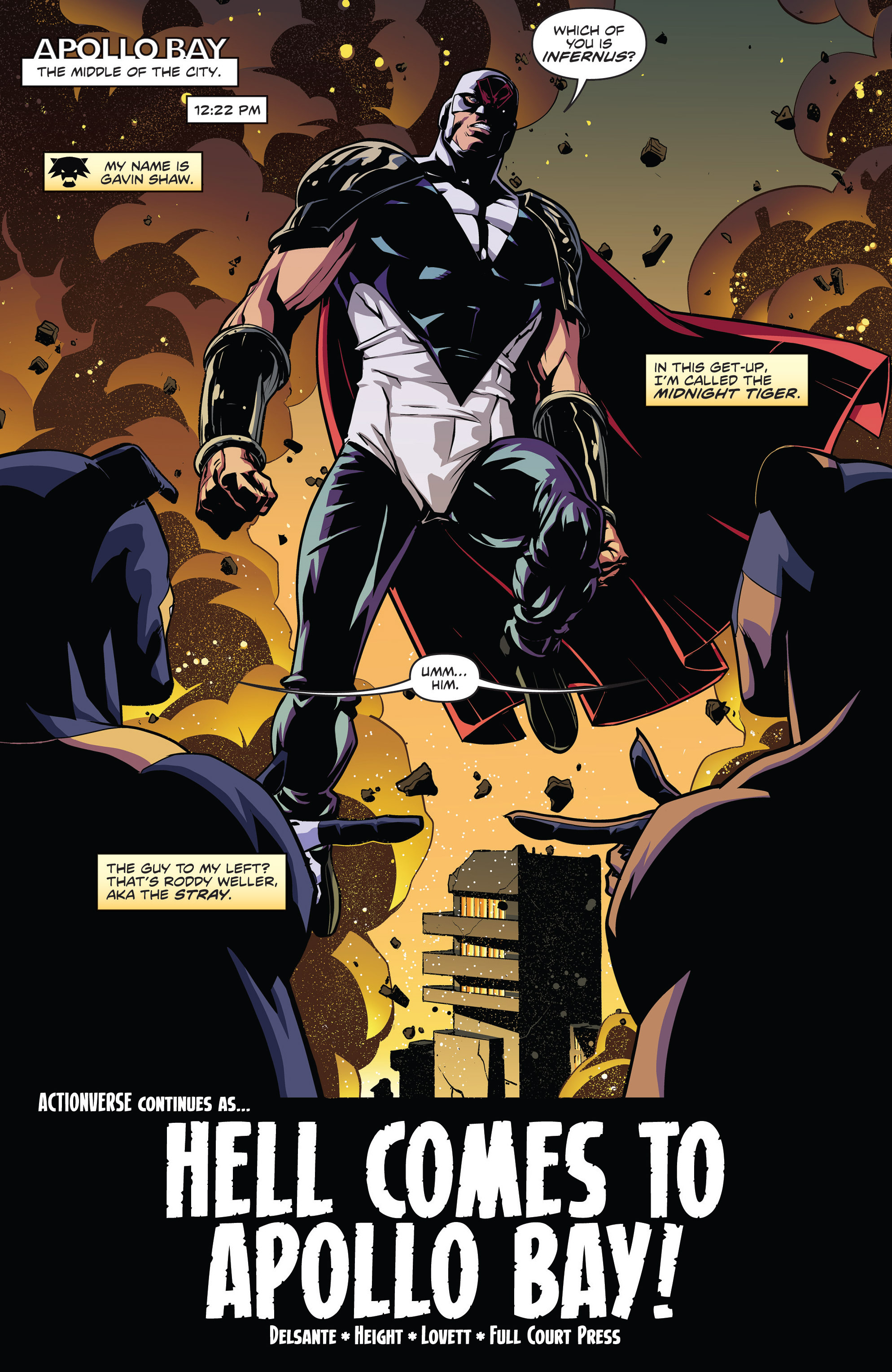 Read online Actionverse comic -  Issue #4 - 3