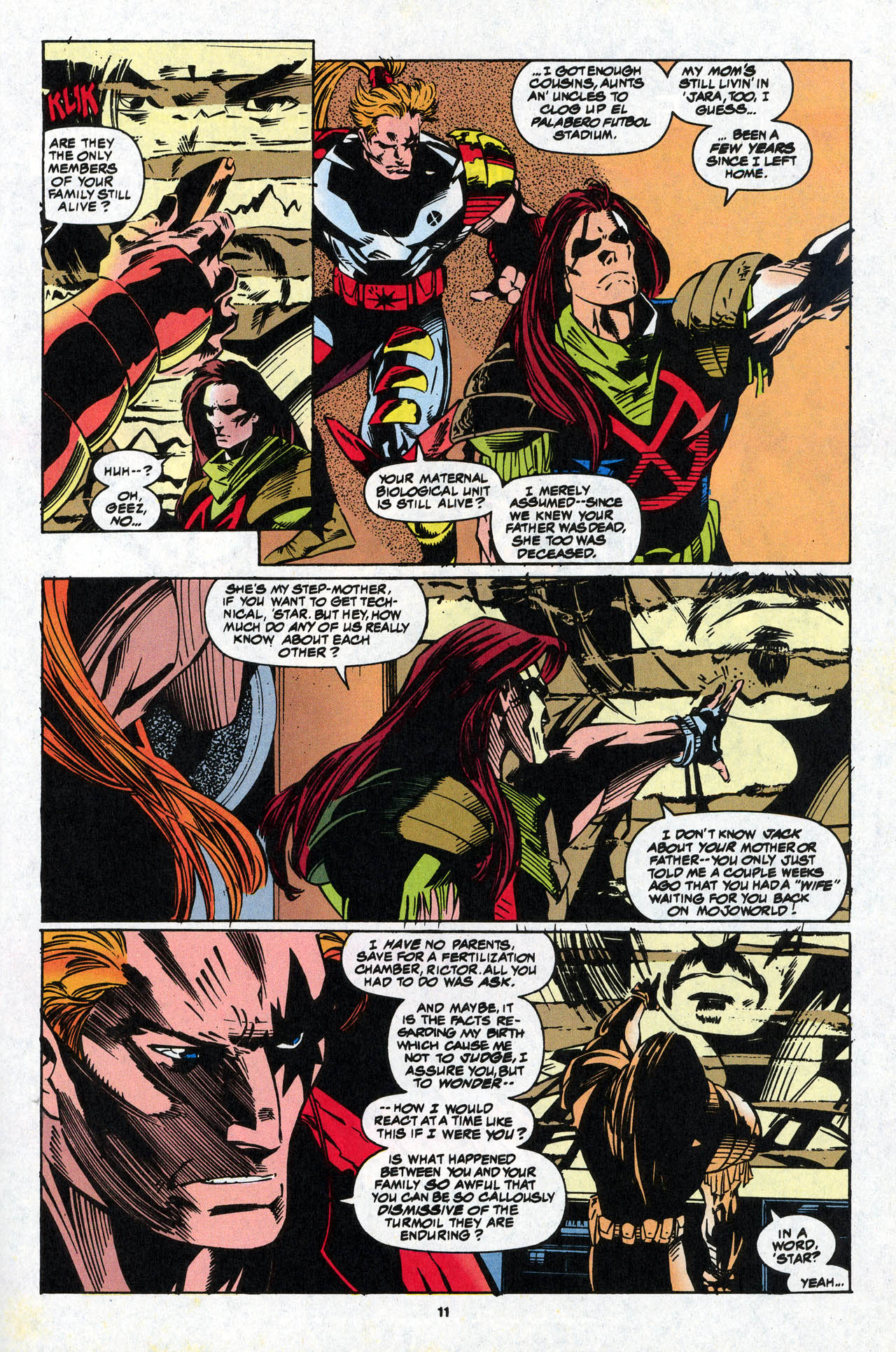 Read online X-Force (1991) comic -  Issue #34 - 12