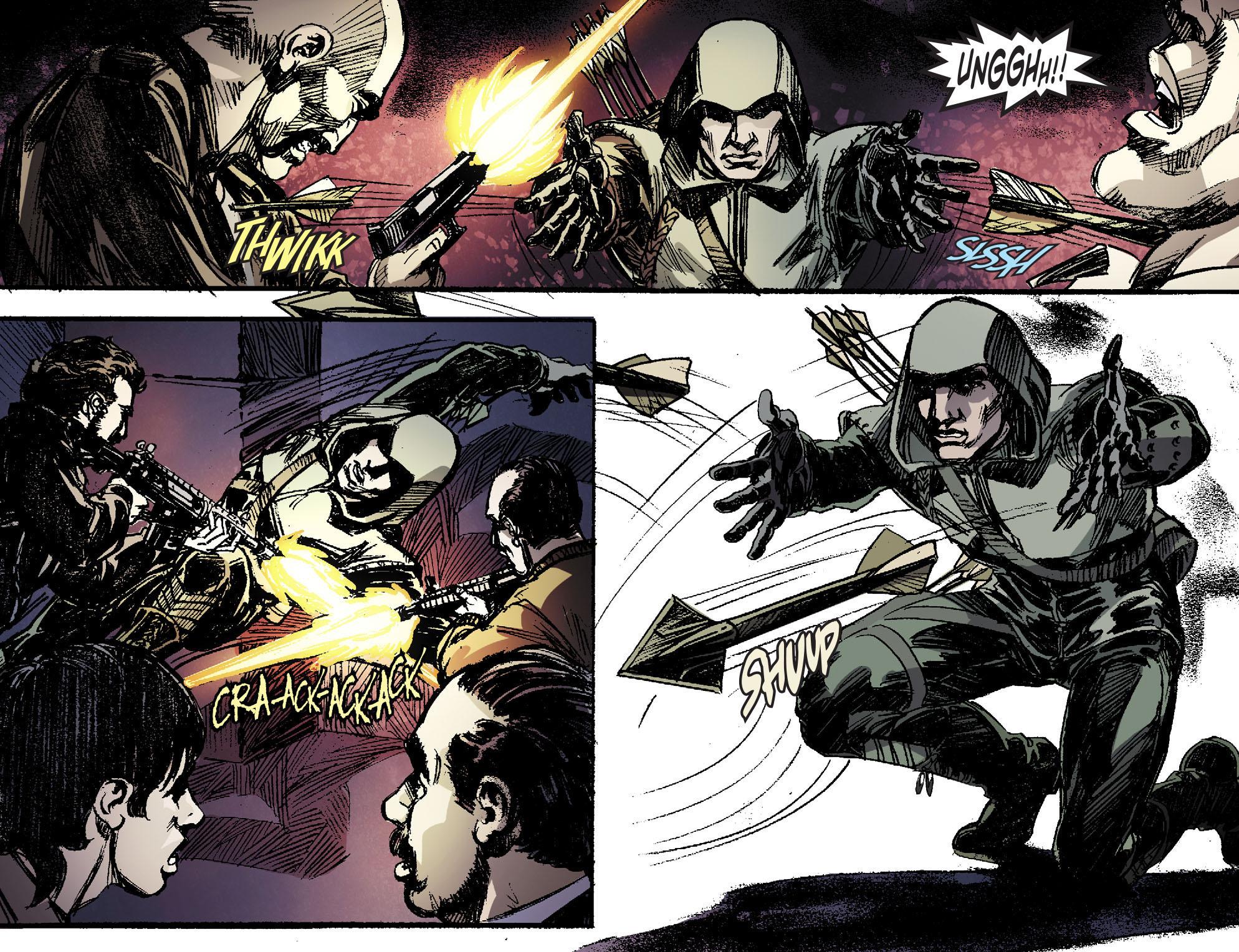 Read online Arrow [II] comic -  Issue #16 - 19