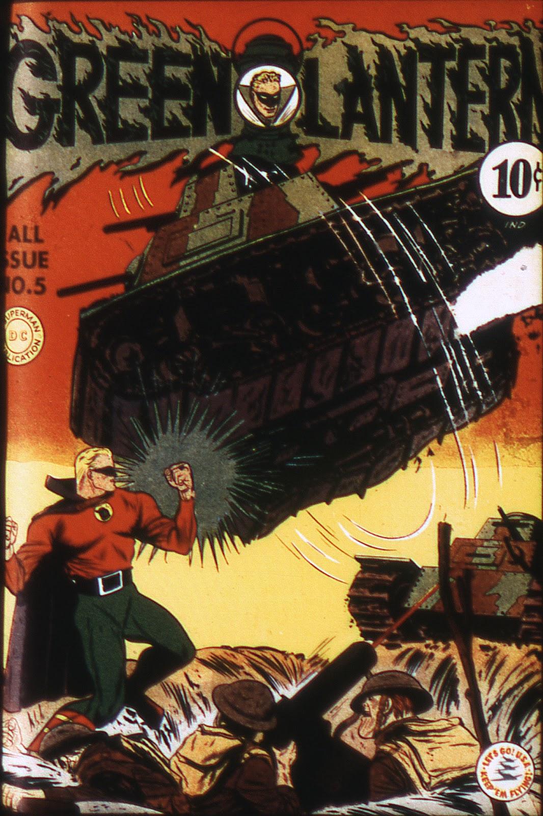 Green Lantern (1941) issue 5 - Page 1