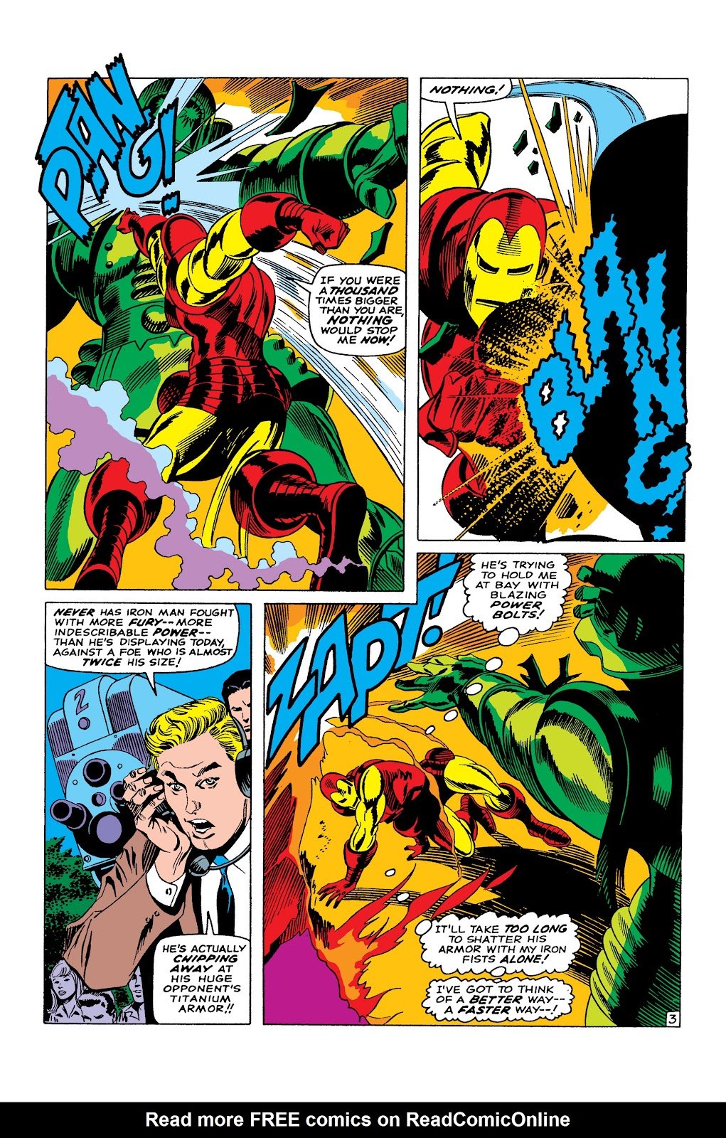 Read online Marvel Masterworks: The Invincible Iron Man comic -  Issue # TPB 3 (Part 4) - 97