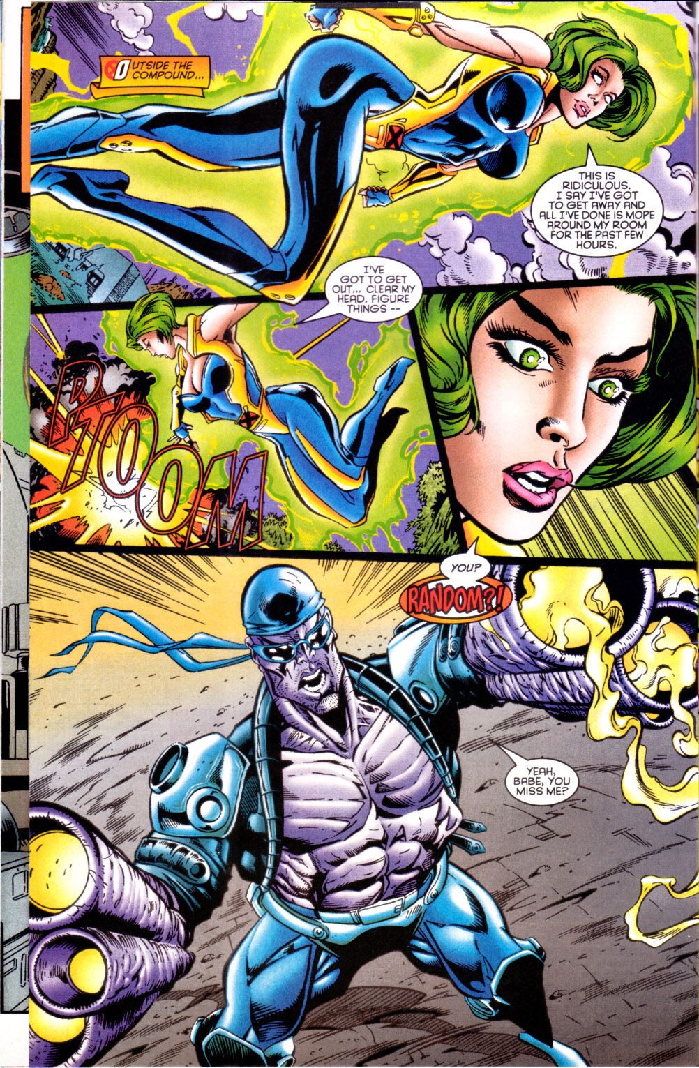 Read online X-Factor (1986) comic -  Issue #124 - 17