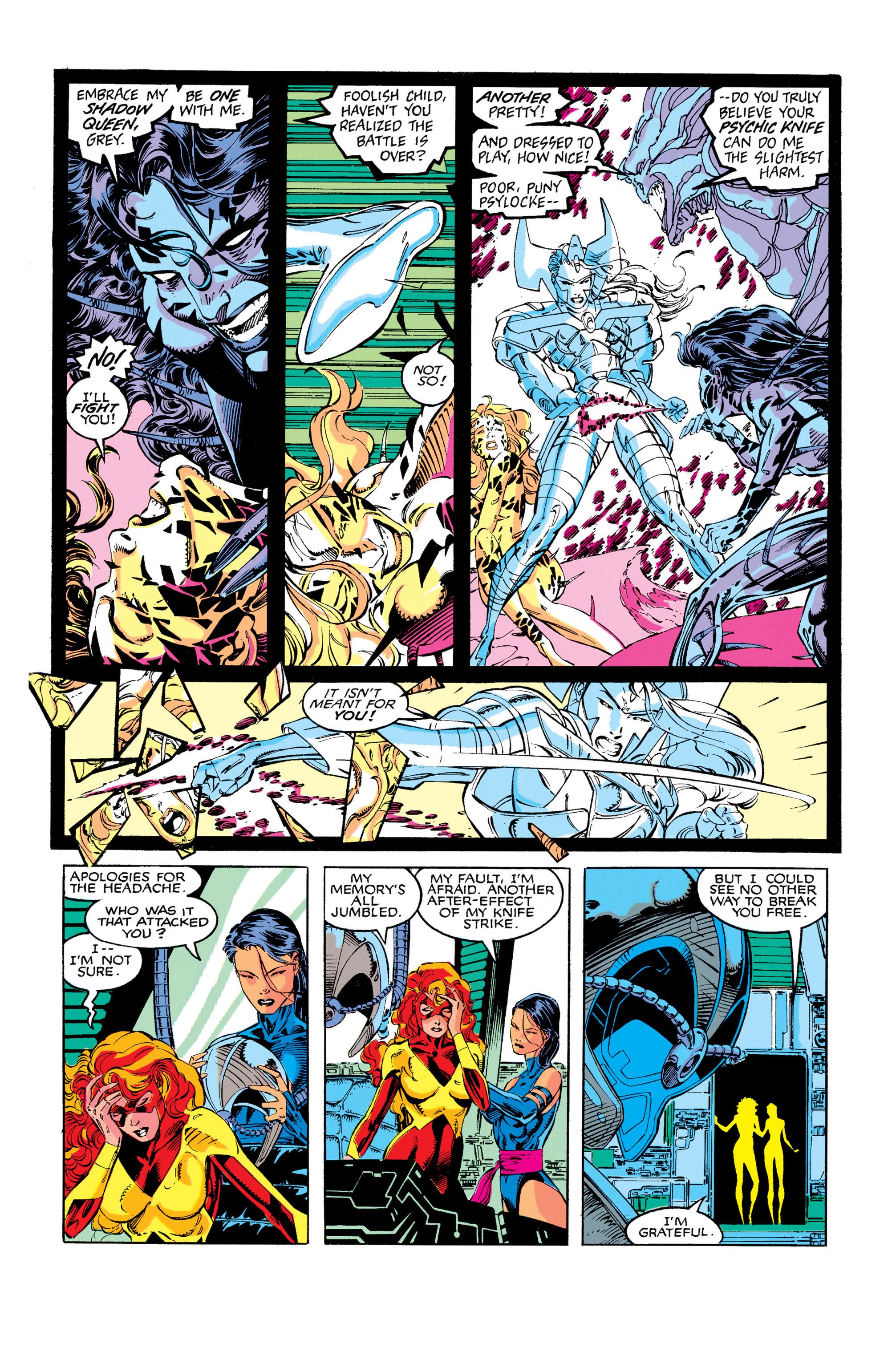 Read online Uncanny X-Men (1963) comic -  Issue #273 - 22