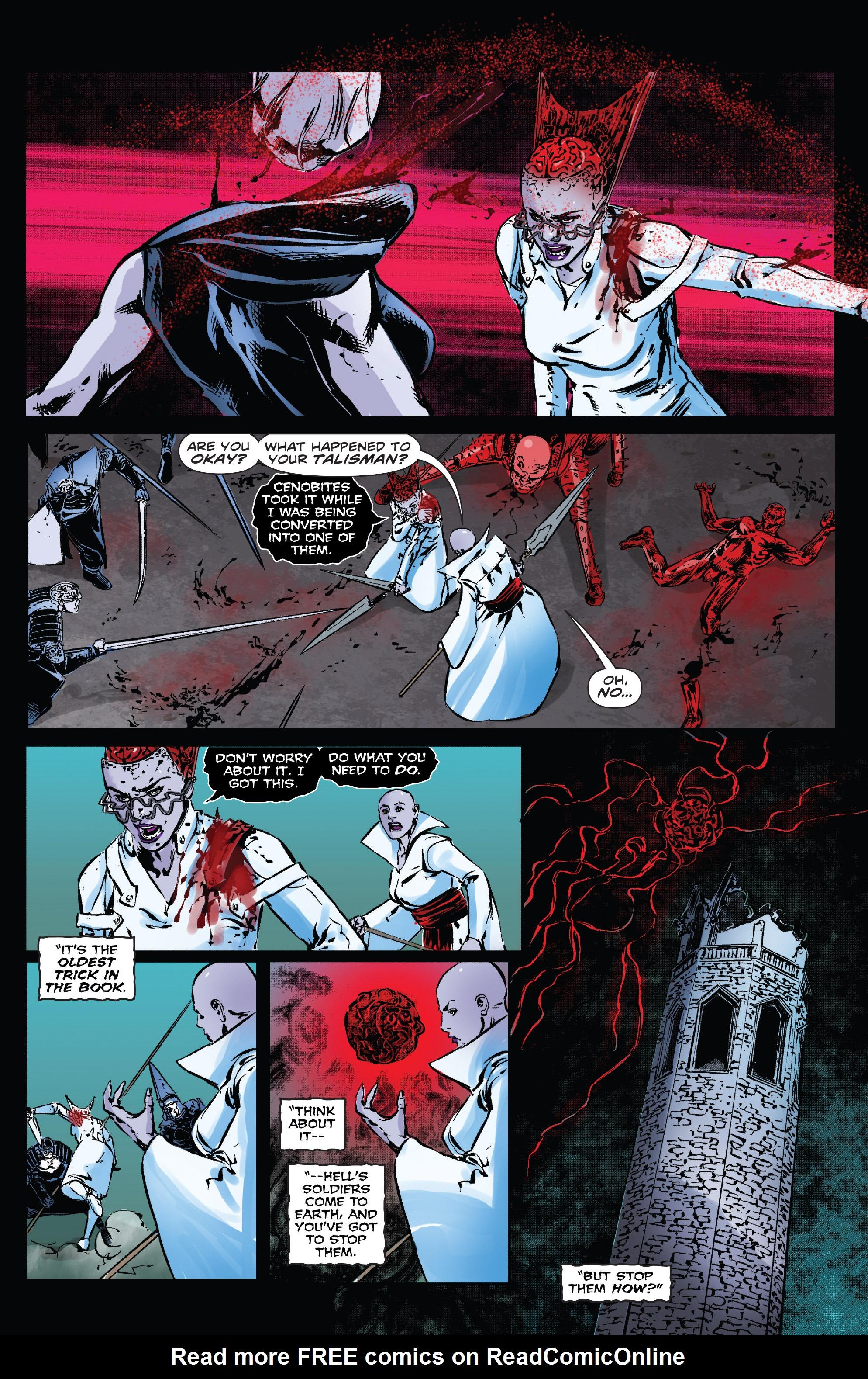 Read online Clive Barker's Hellraiser: The Dark Watch comic -  Issue # TPB 3 - 116