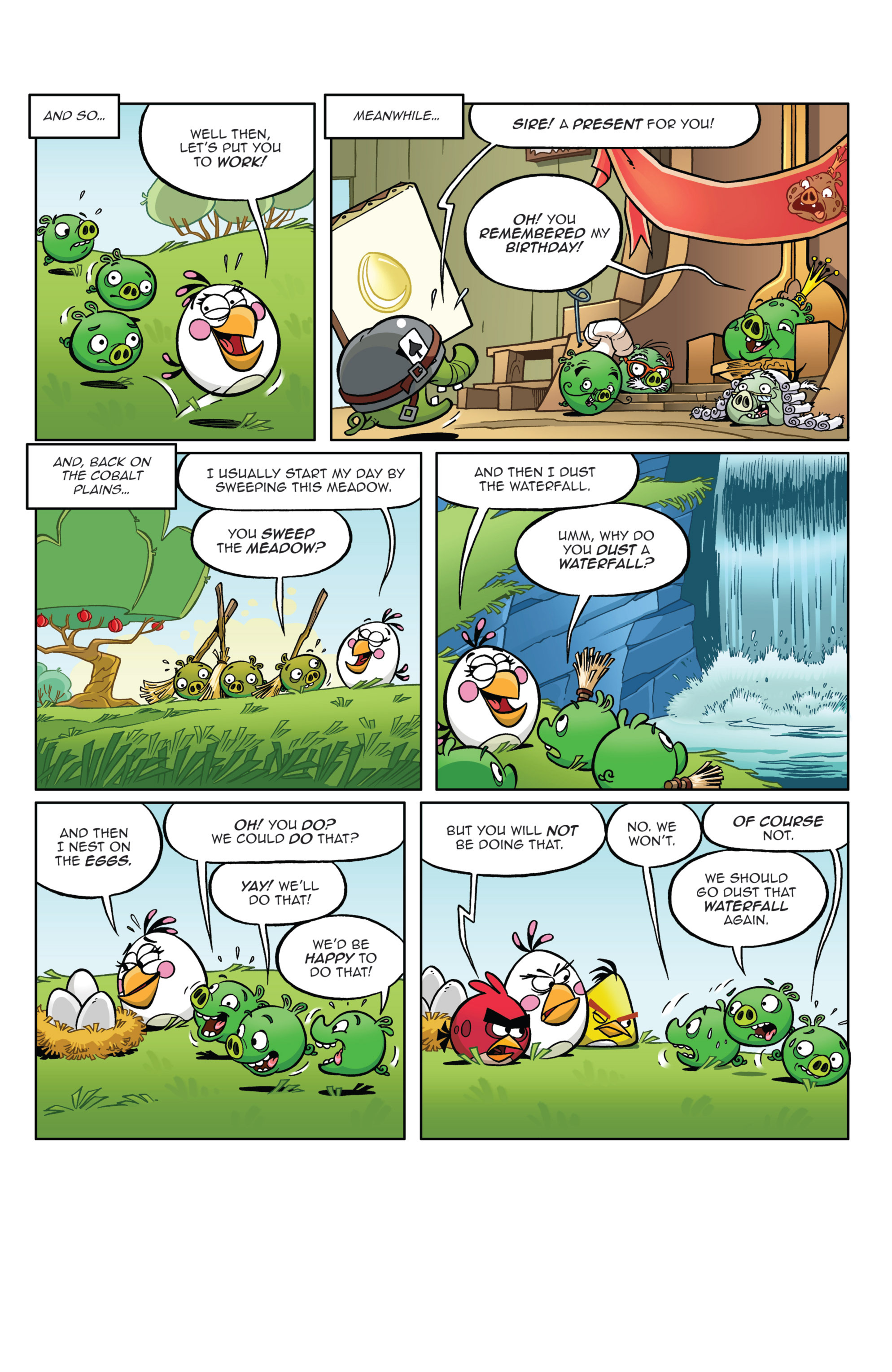 Read online Angry Birds Comics (2014) comic -  Issue #4 - 21