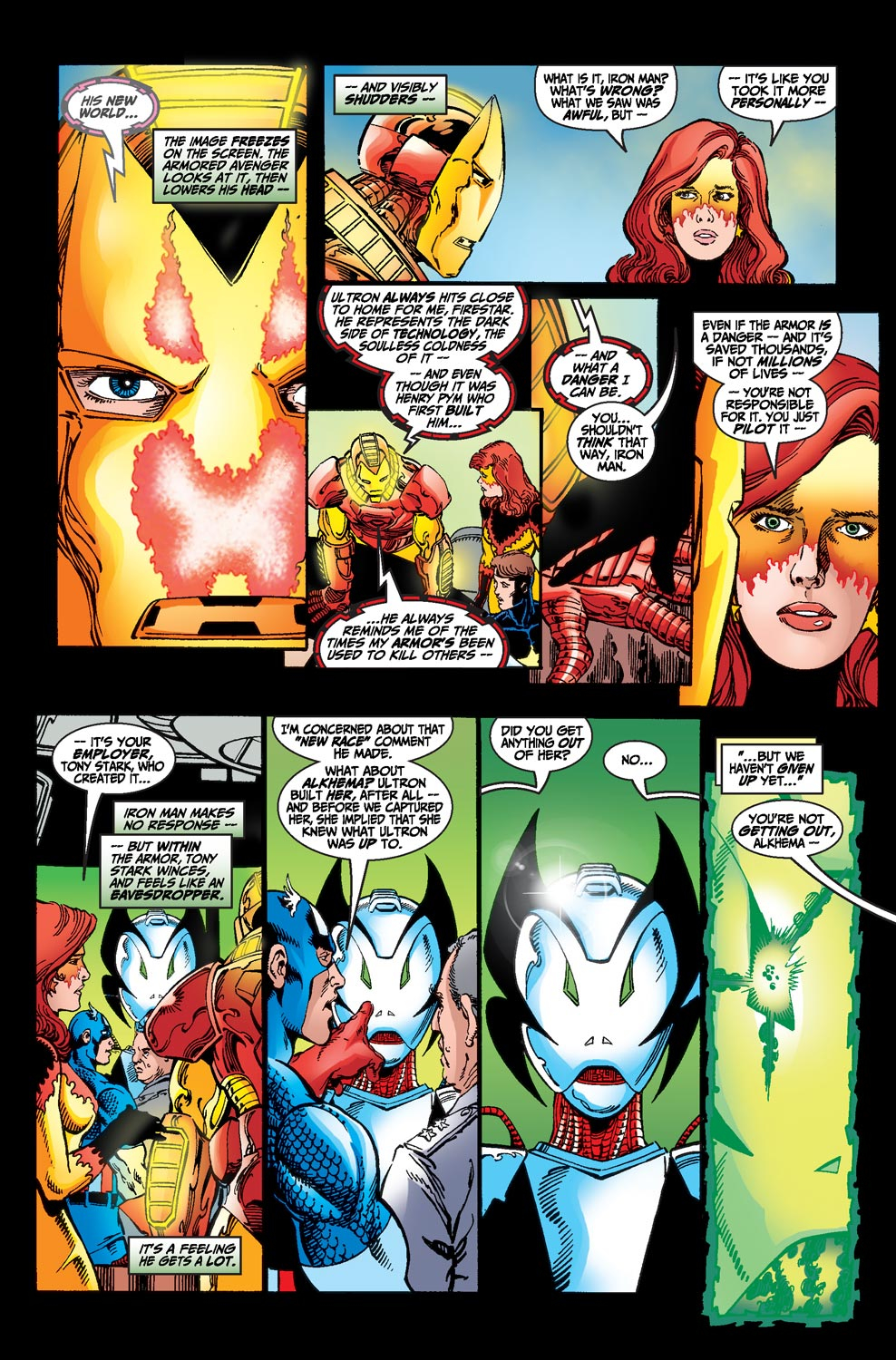 Read online Avengers (1998) comic -  Issue #20 - 7