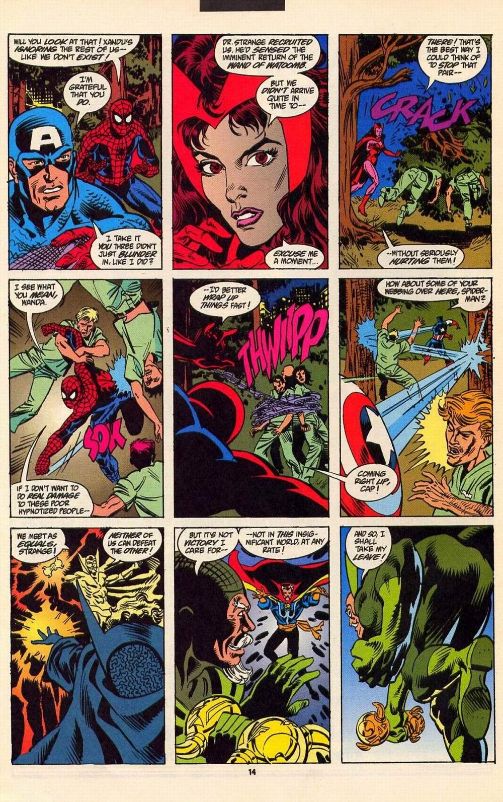 Read online Secret Defenders comic -  Issue #6 - 11