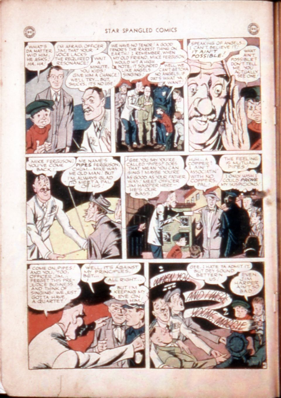 Star Spangled Comics (1941) issue 43 - Page 6