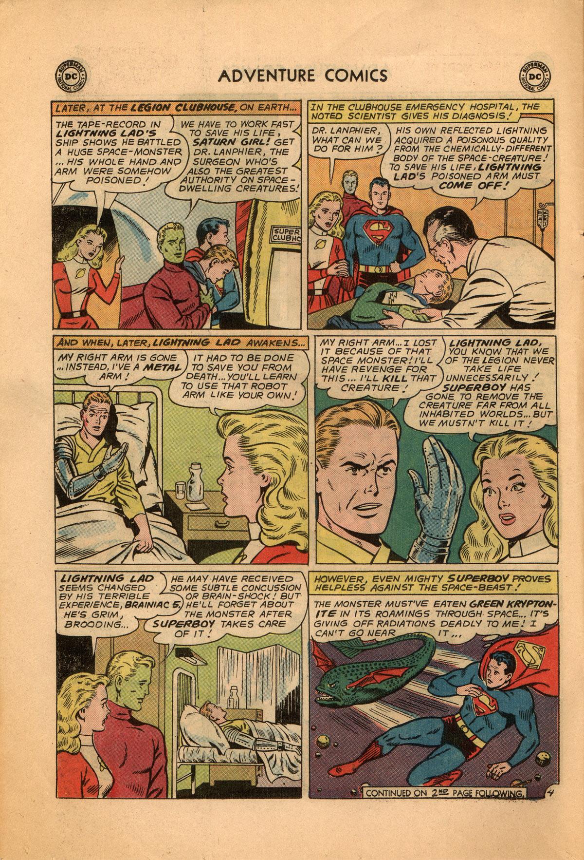 Read online Adventure Comics (1938) comic -  Issue #332 - 6