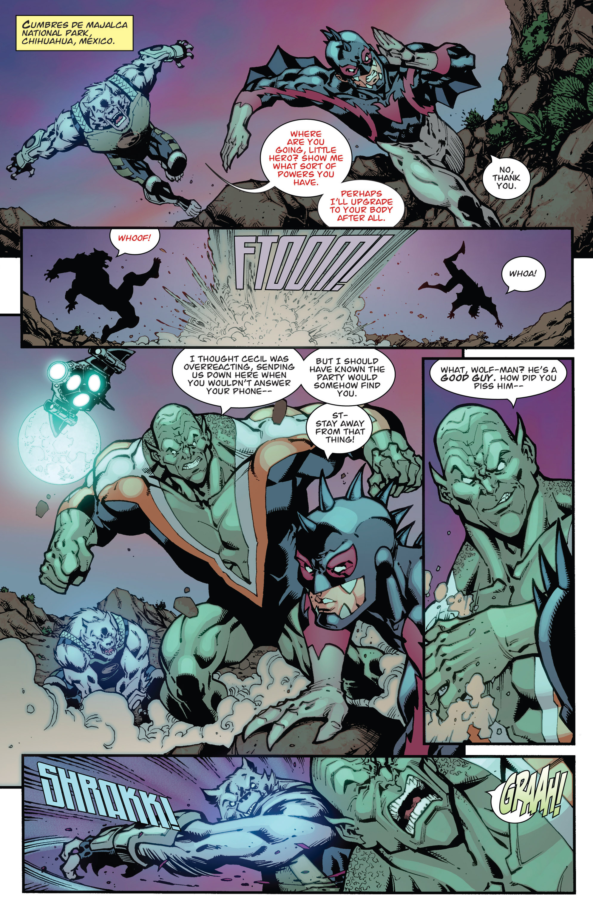 Read online Guarding the Globe (2012) comic -  Issue #3 - 18