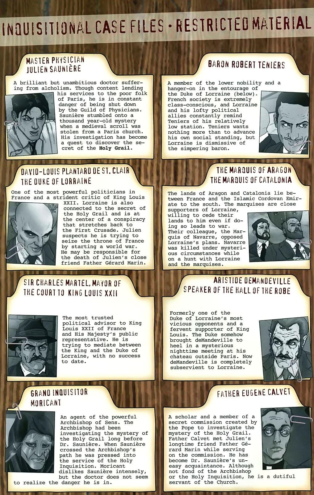 Read online Rex Mundi comic -  Issue #15 - 4