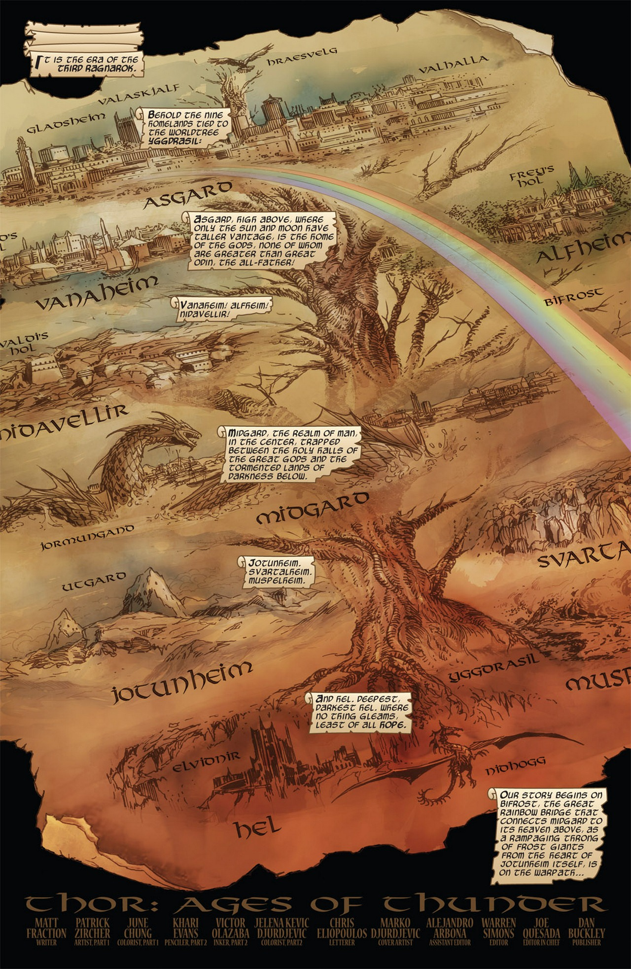 Thor: Ages of Thunder Full Page 2