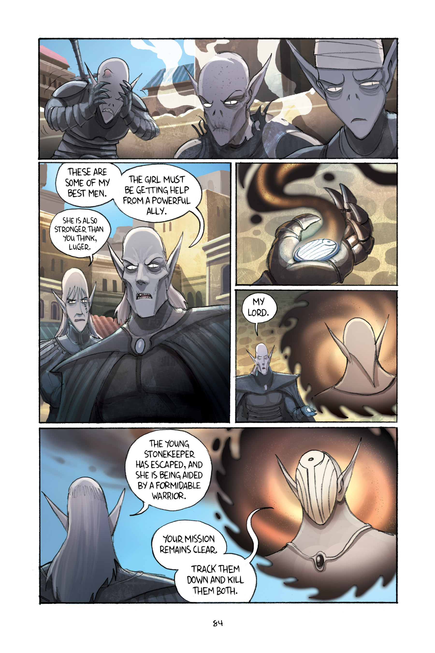 Read online Amulet comic -  Issue #2 - 85