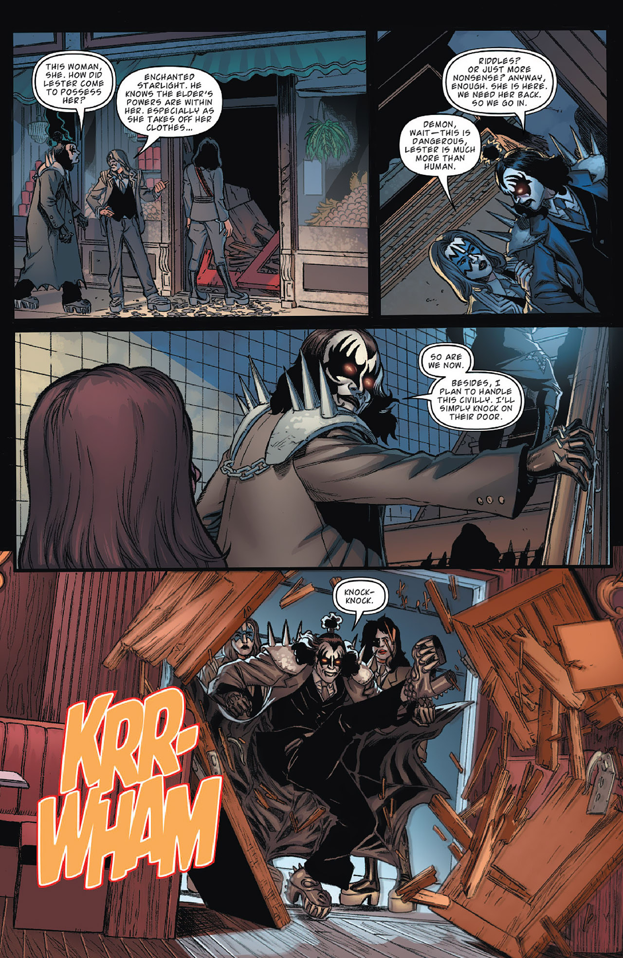 Read online KISS (2012) comic -  Issue #1 - 22